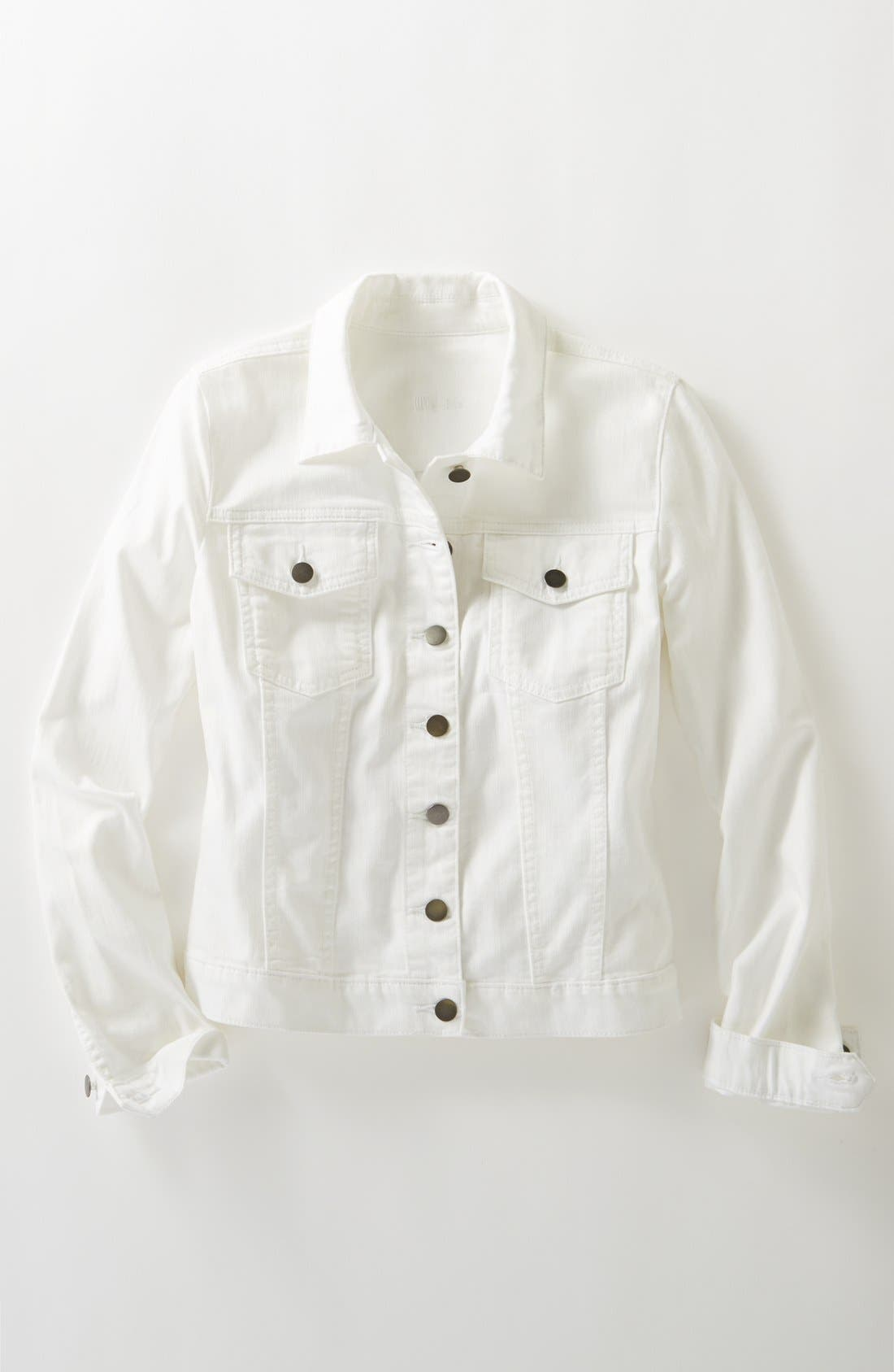 Alternate Image 6  - KUT from the Kloth 'Helena' Denim Jacket (Regular & Petite)