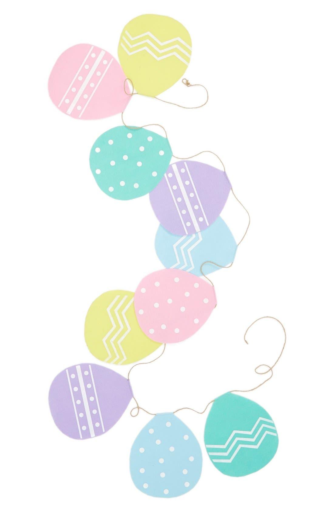 Main Image - Levtex 'Easter Egg' Felt Banner