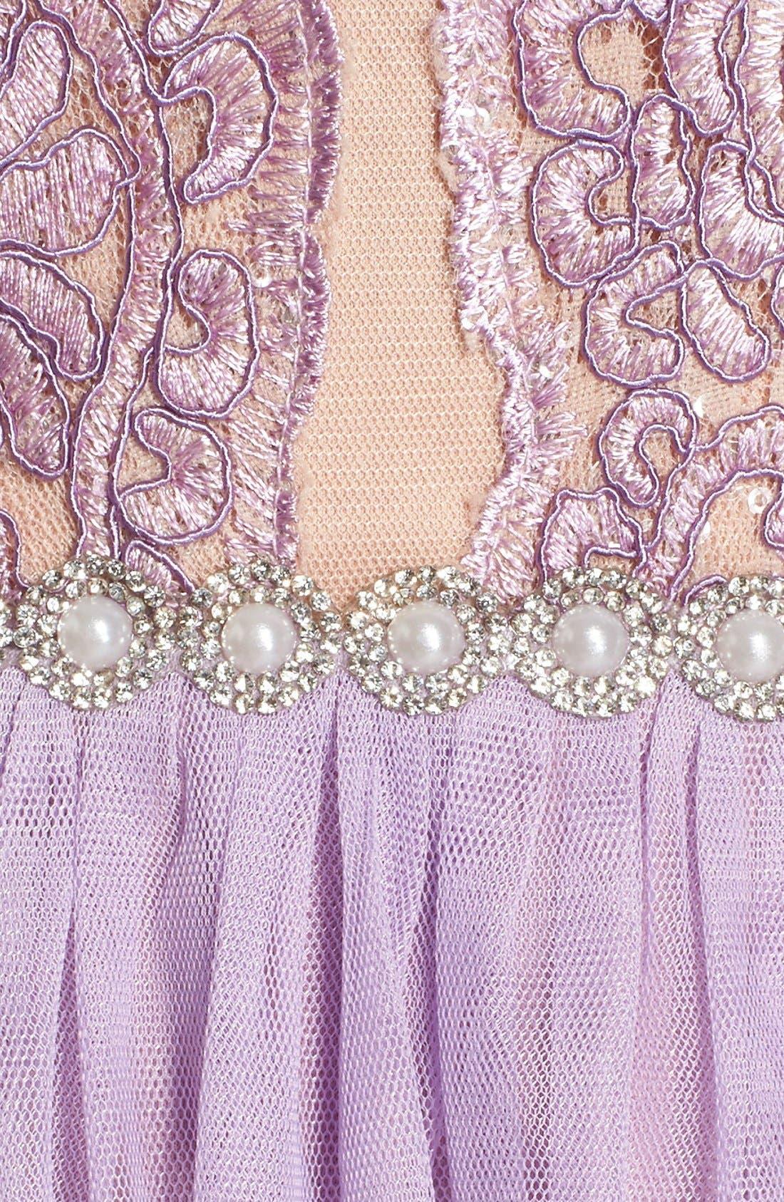 Alternate Image 5  - Way-In 'Claire' Embellished Strapless Skater Dress