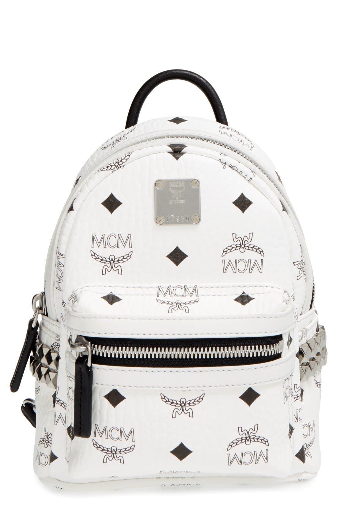Main Image - MCM 'X-Mini Stark Side Stud' Convertible Backpack