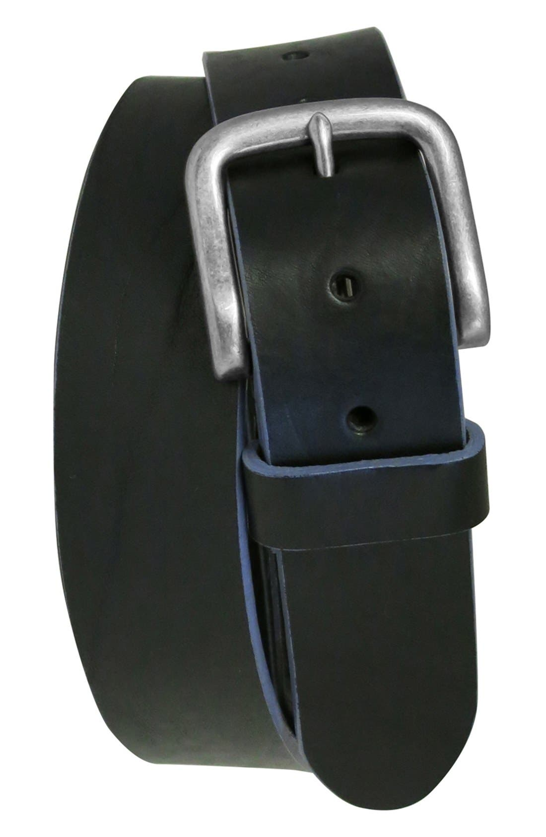 BOCONI 'Bastian' Bison Leather Belt