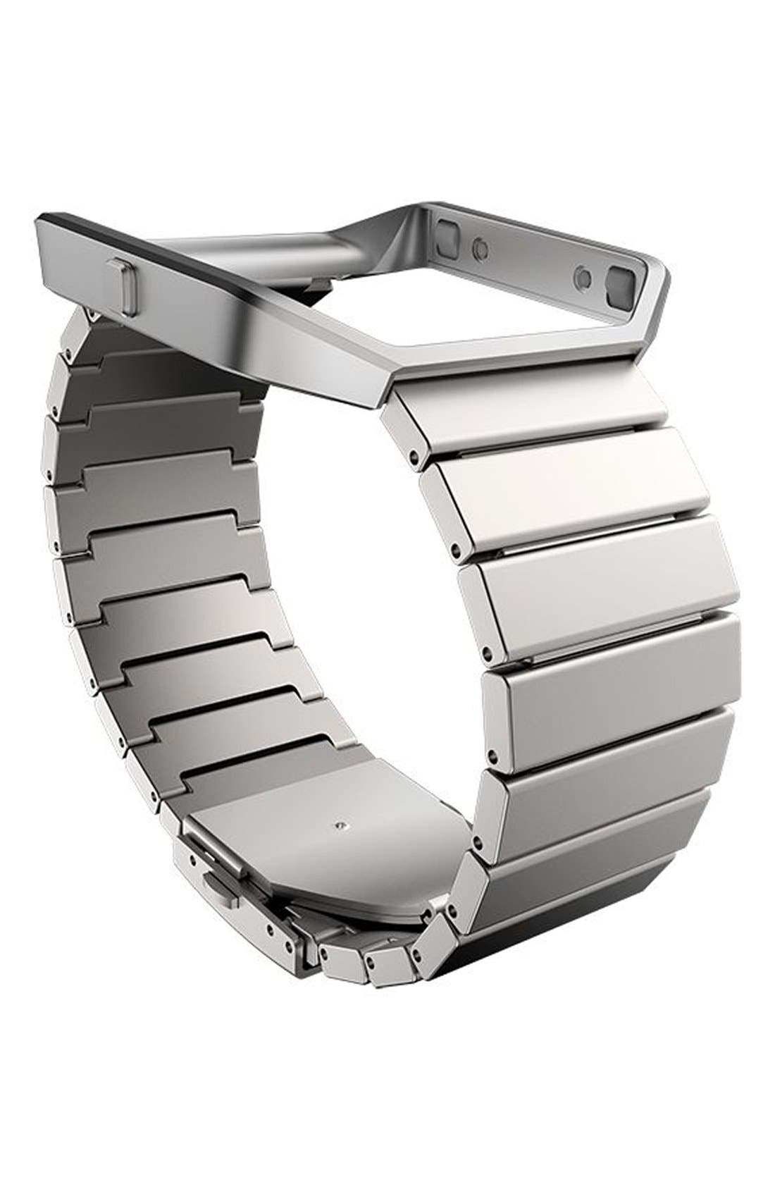 FITBIT 'Blaze' Steel Link Accessory Band & Frame