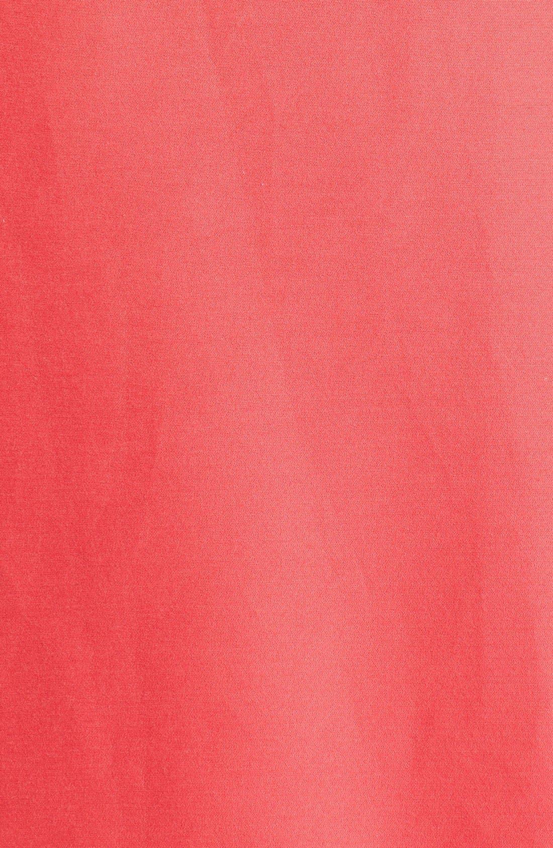 Alternate Image 6  - Halston Heritage Cap Sleeve High/Low Fit & Flare Dress