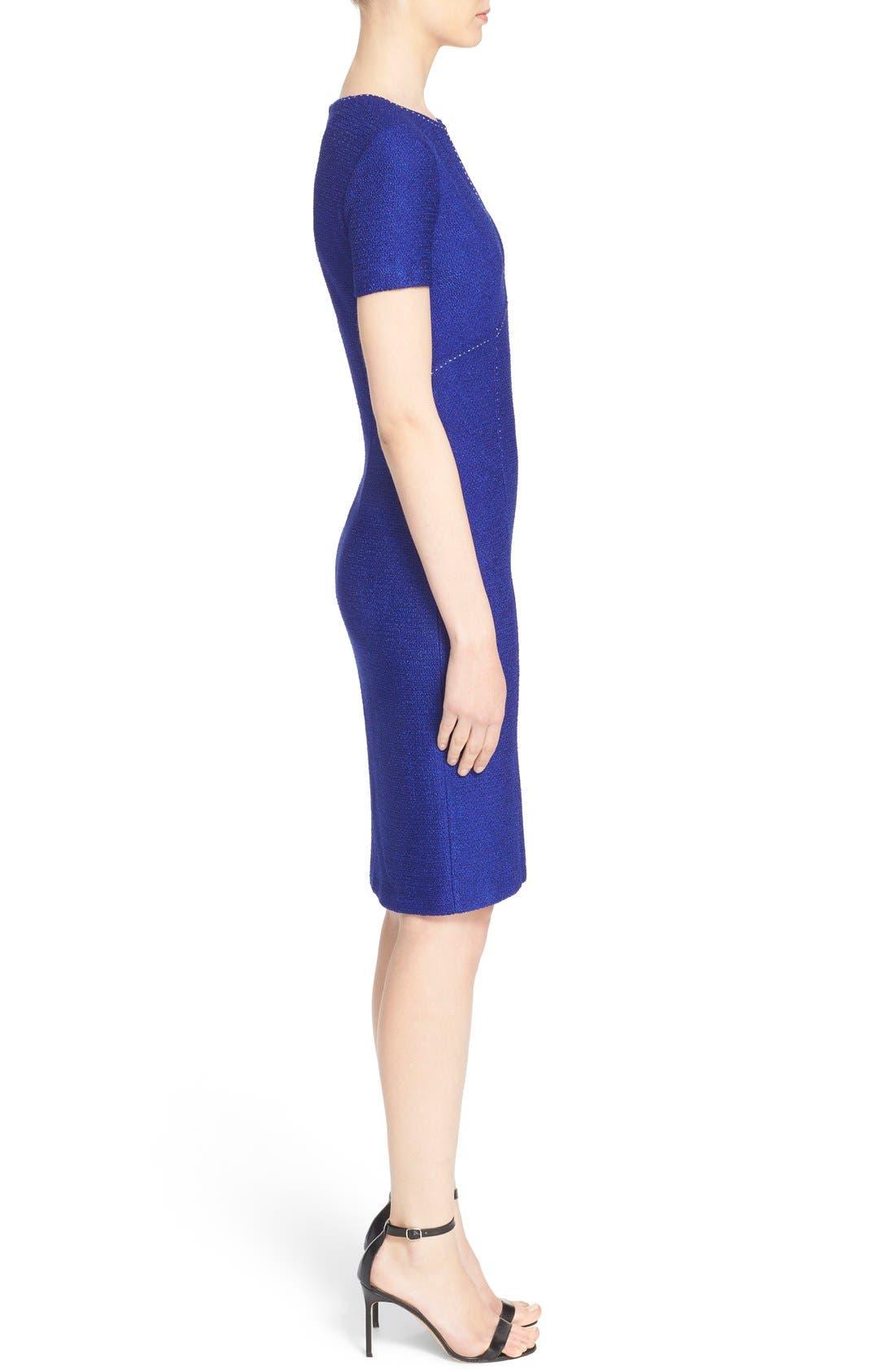 Alternate Image 5  - St. John Collection 'Newport' Knit Sheath Dress