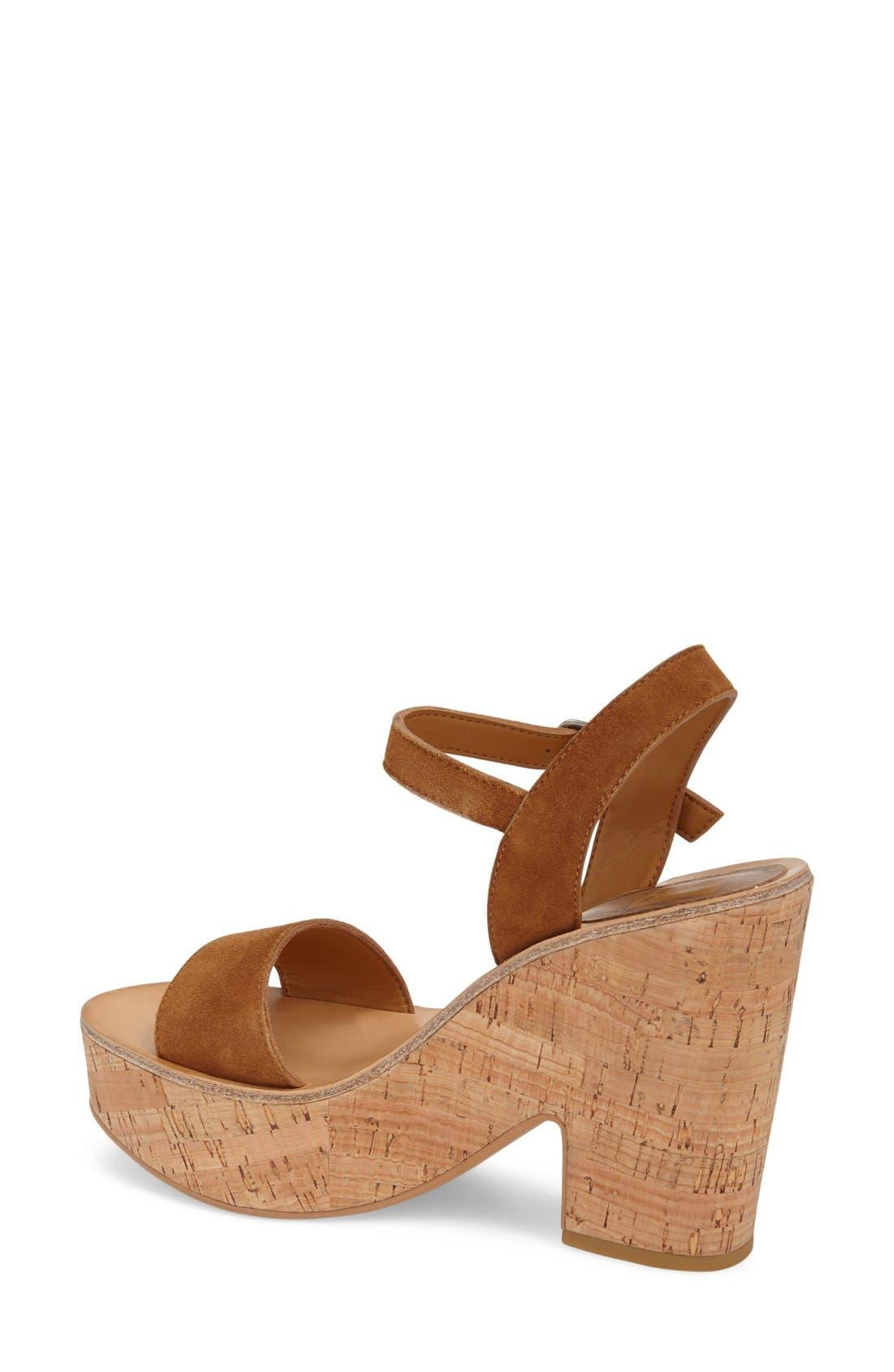 Alternate Image 2  - Dolce Vita 'Randi' Platform Sandal (Women)