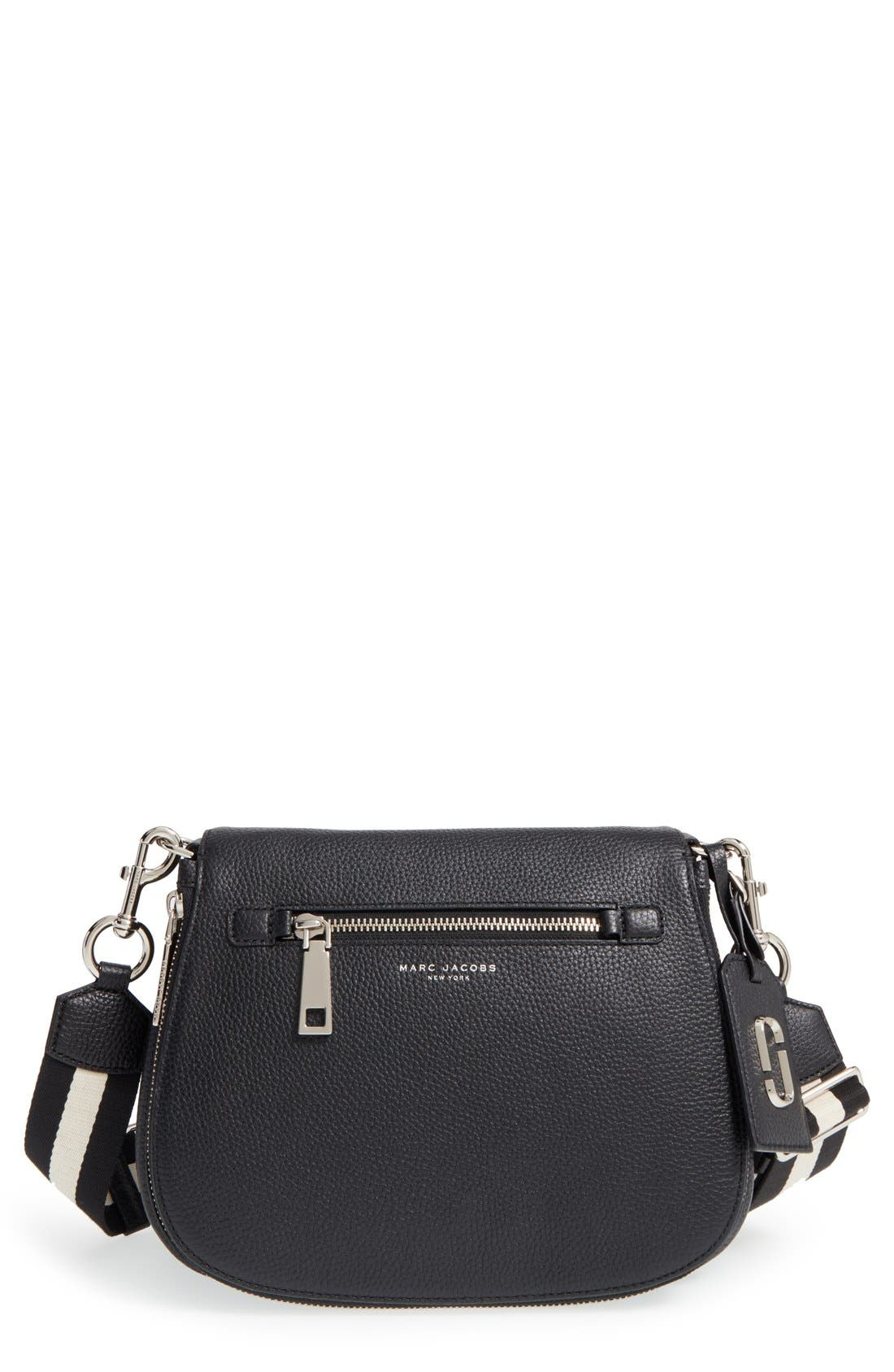 MARC JACOBS 'Gotham' Leather Saddle Bag