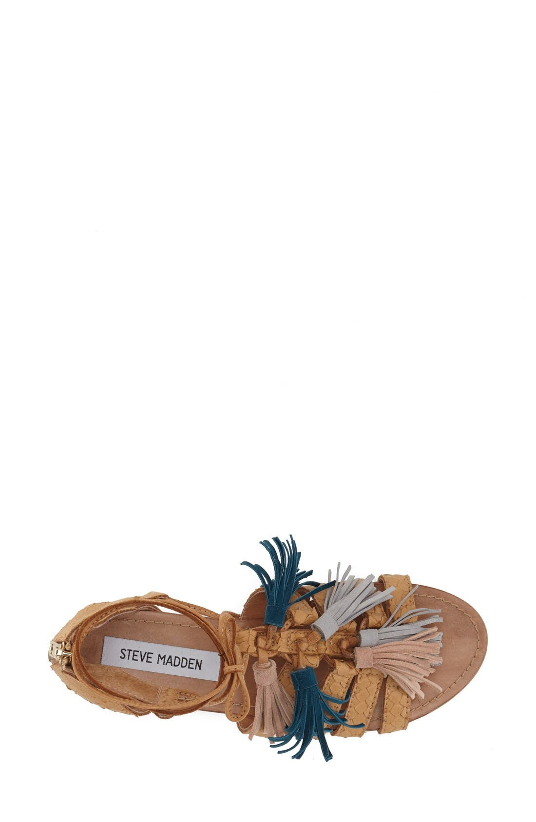 Alternate Image 3  - Steve Madden 'Monrowe' Tassel Sandal (Women)