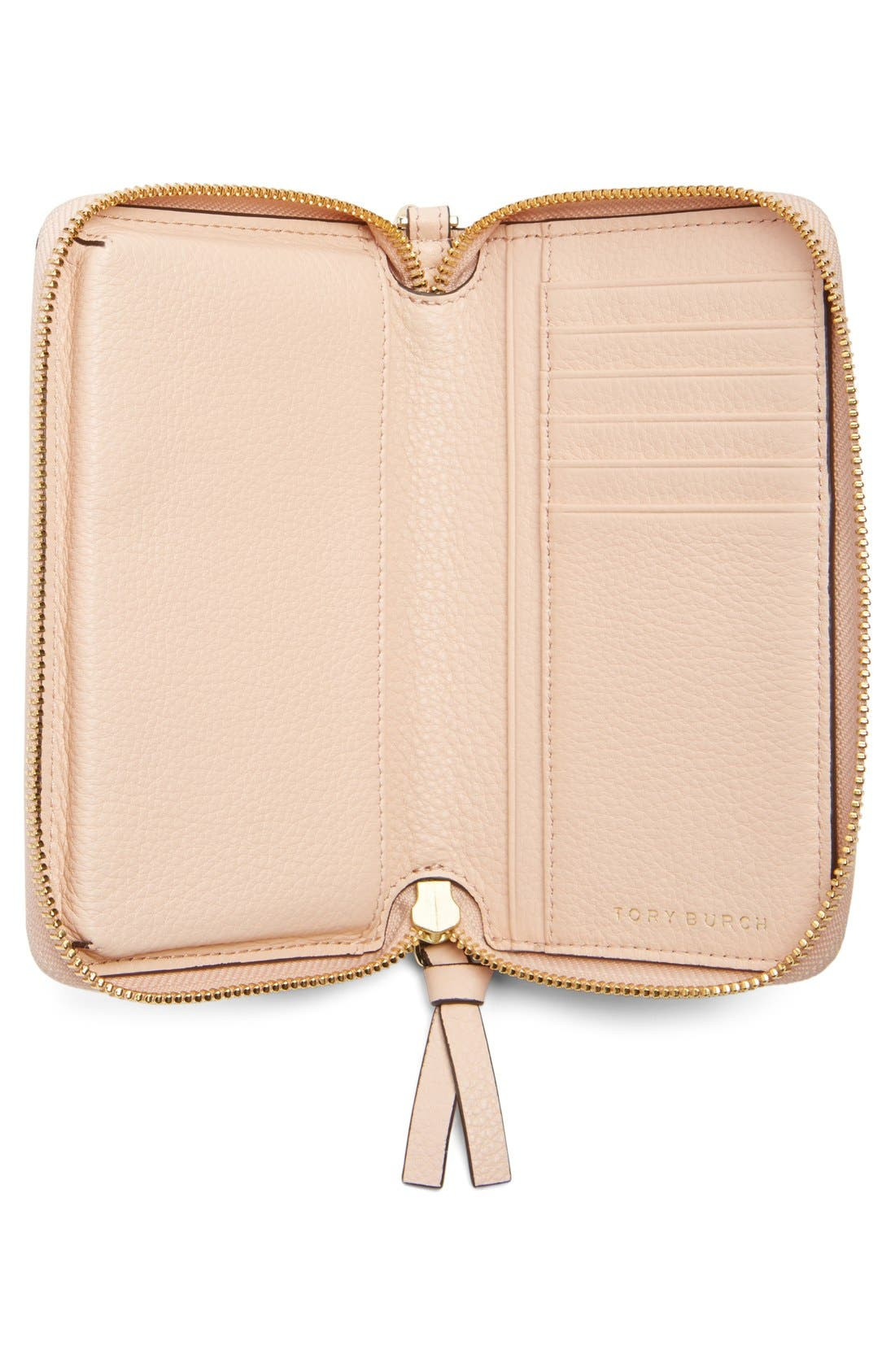 Alternate Image 2  - Tory Burch 'Thea' Leather Wristlet