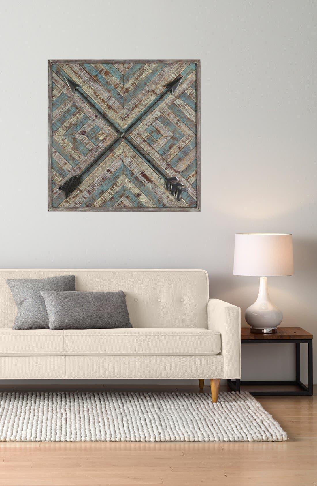 Alternate Image 2  - Crystal Art Gallery 'Wood & Metal Arrows' Wall Art