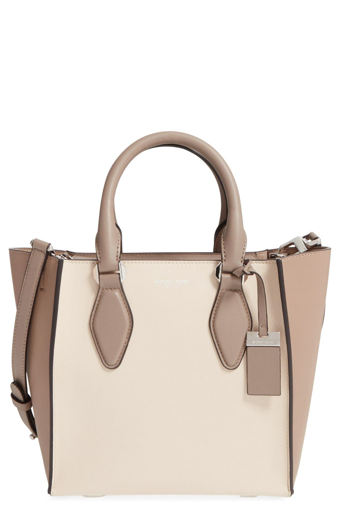 Alternate Image 1 Selected - Michael Kors 'Small Gracie' Leather Tote
