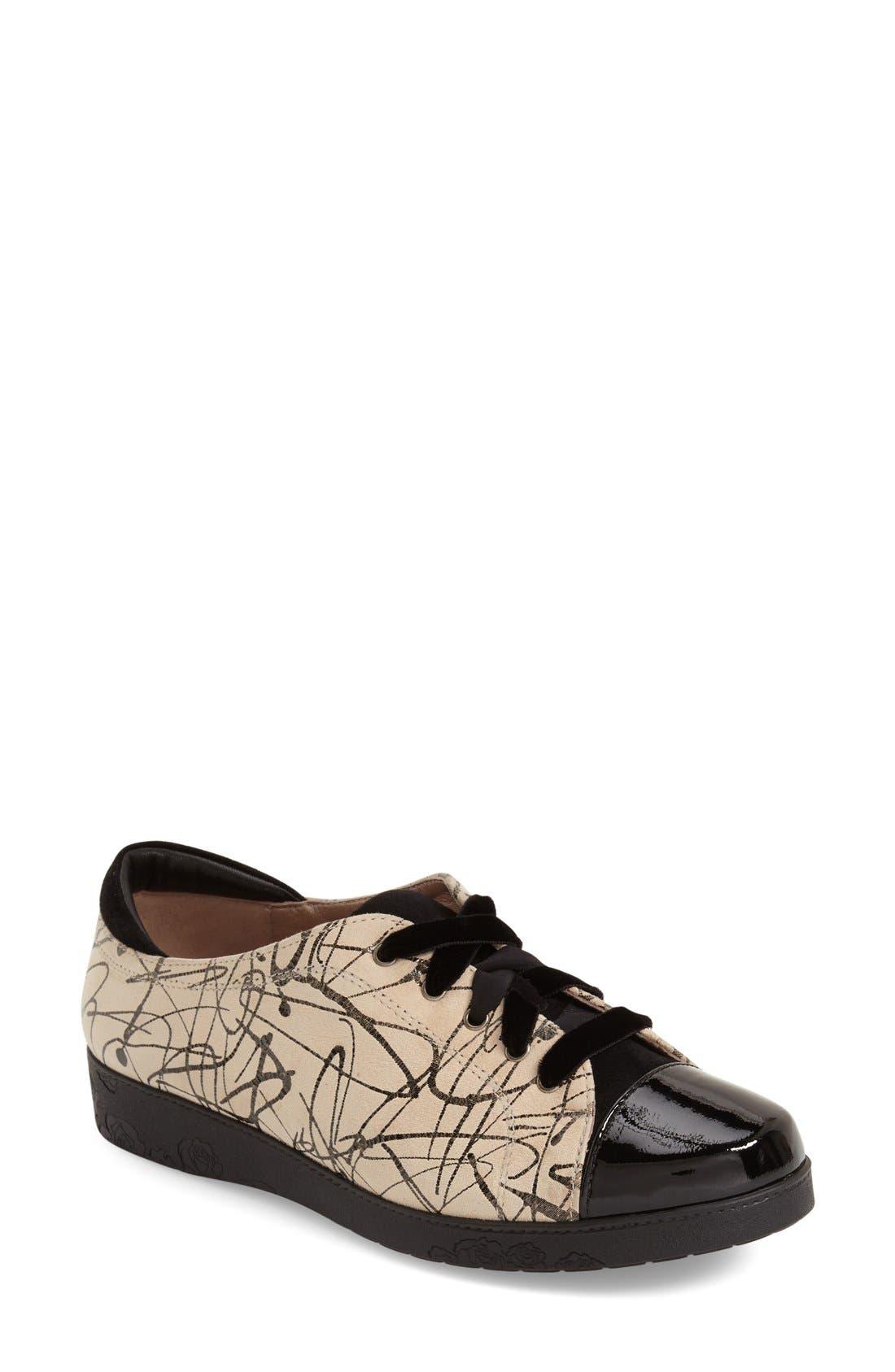 Alternate Image 1 Selected - BeautiFeel 'Cella' Cap Toe Sneaker (Women)