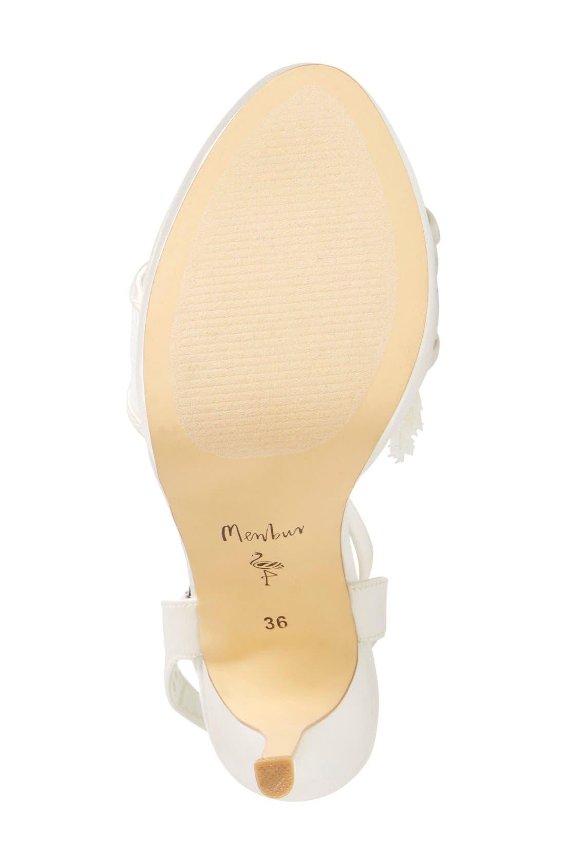 Alternate Image 2  - Menbur 'Dalila' Bridal Sandal (Women)