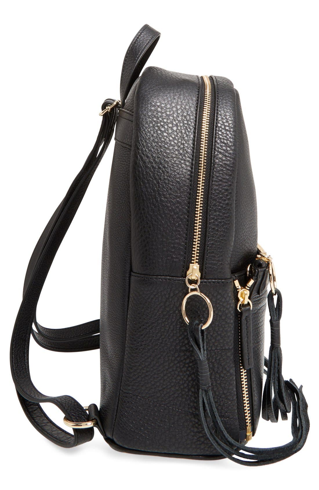 Alternate Image 4  - Rebecca Minkoff 'Lola' Backpack with Detachable Crossbody