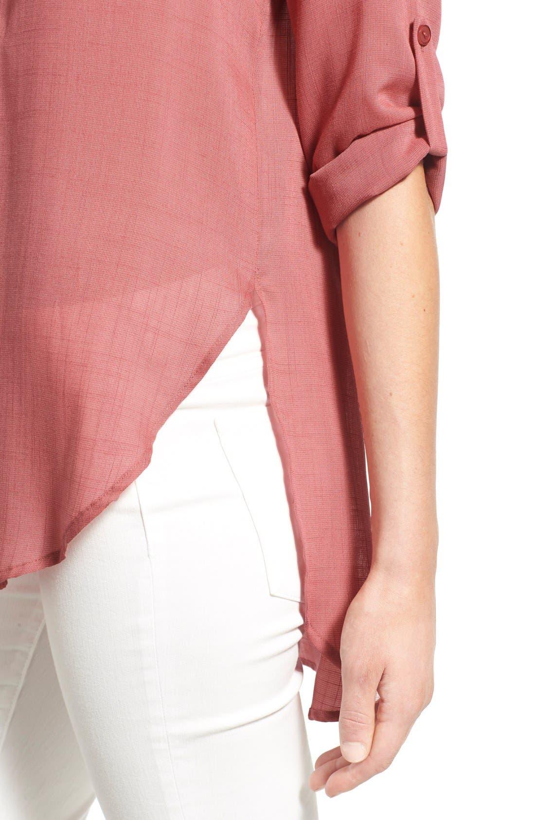 Alternate Image 4  - Lush Woven Tunic