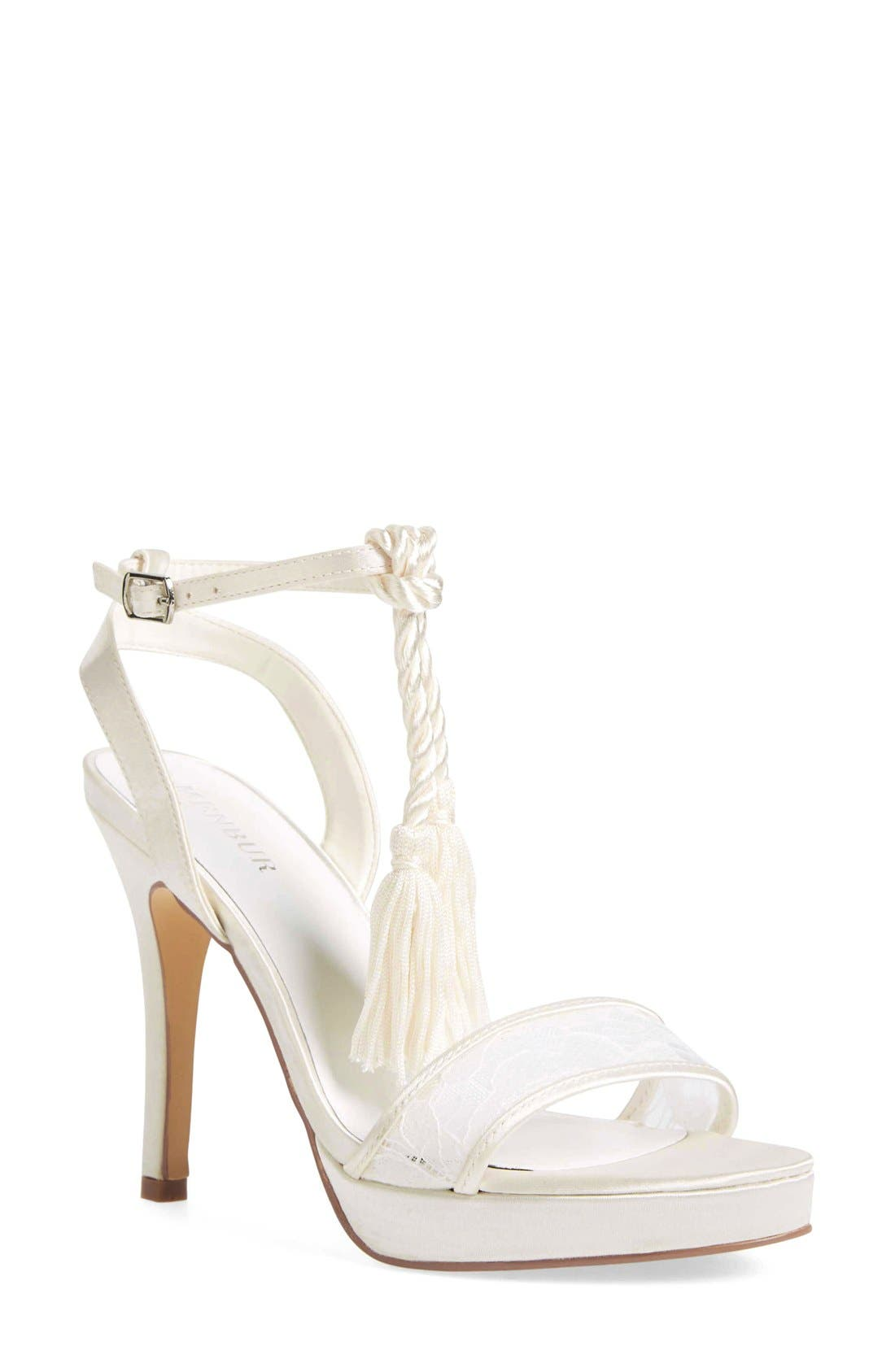 Alternate Image 1 Selected - Menbur 'Dalila' Bridal Sandal (Women)