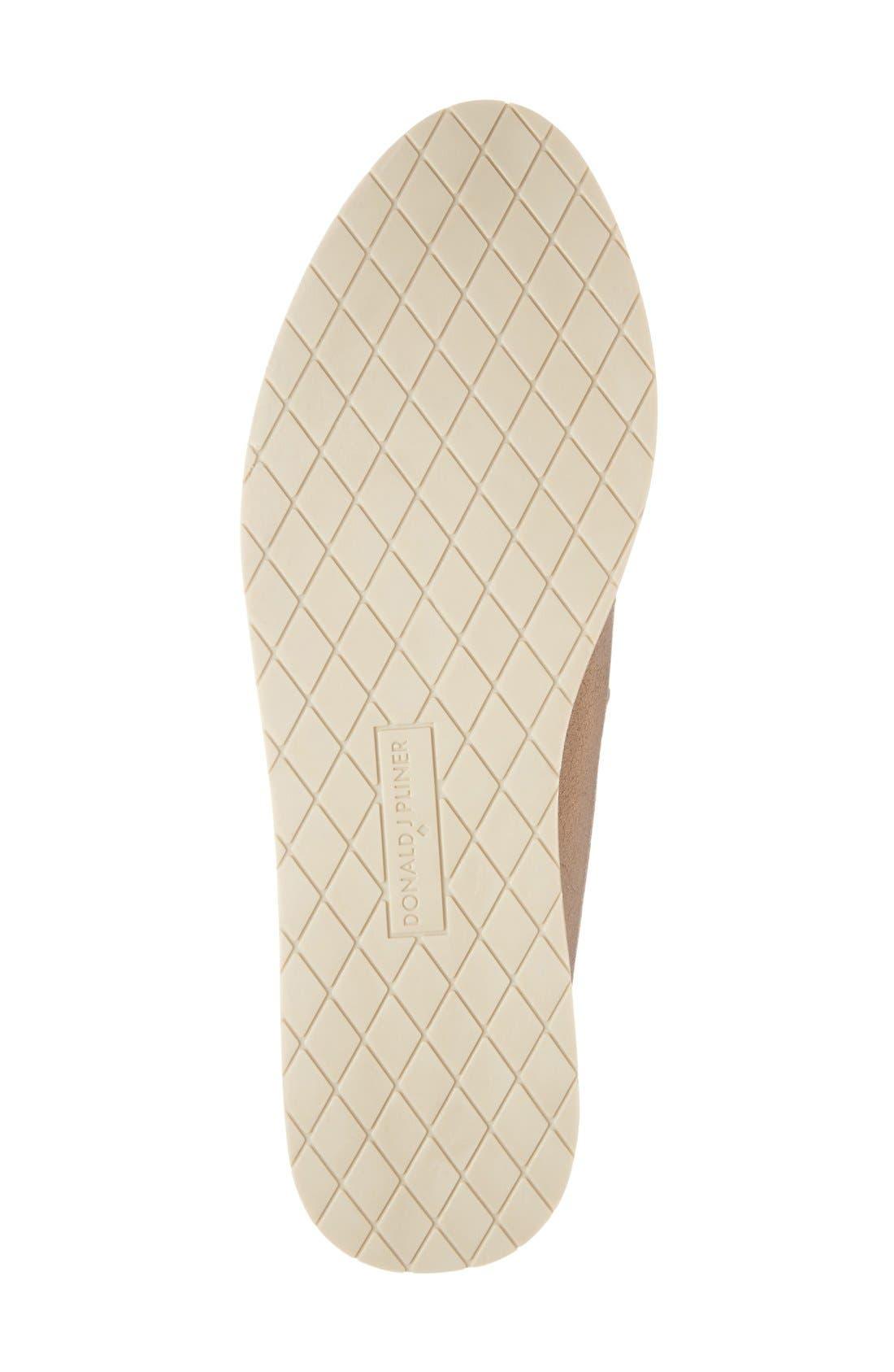 Alternate Image 4  - Donald J Pliner 'Maze' Metallic Woven Platform Slip-On (Women)