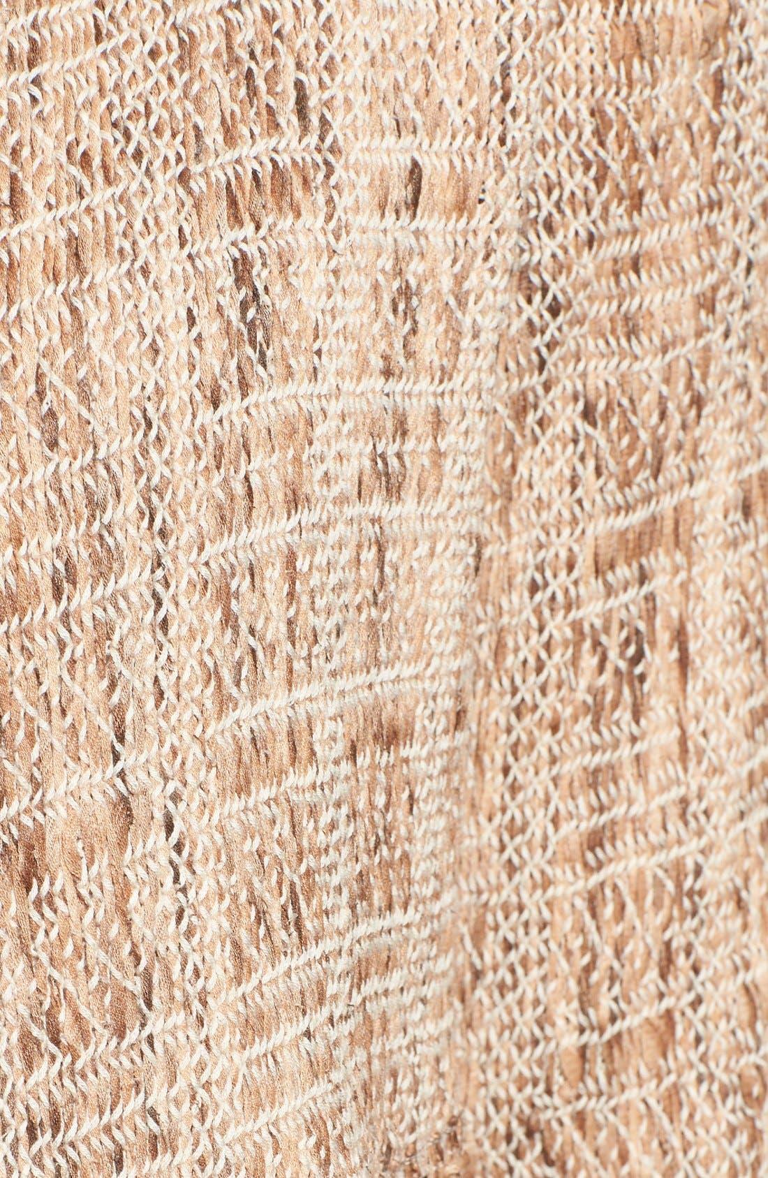 Alternate Image 5  - NIC+ZOE 'Cork' Fringe Tweed Jacket (Regular & Petite)