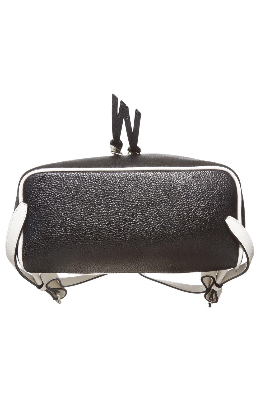 Alternate Image 6  - MICHAEL Michael Kors 'Small Rhea' Leather Backpack