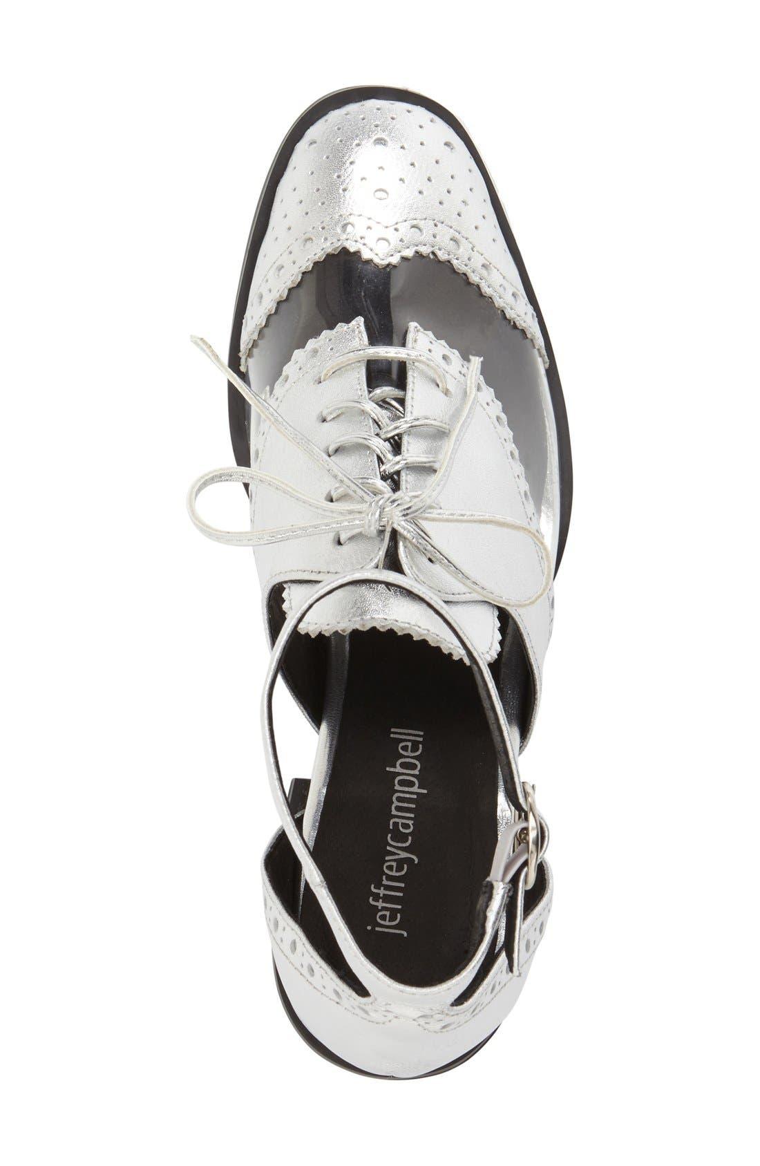 Alternate Image 3  - Jeffrey Campbell 'Thoreau' Ankle Strap Oxford (Women)