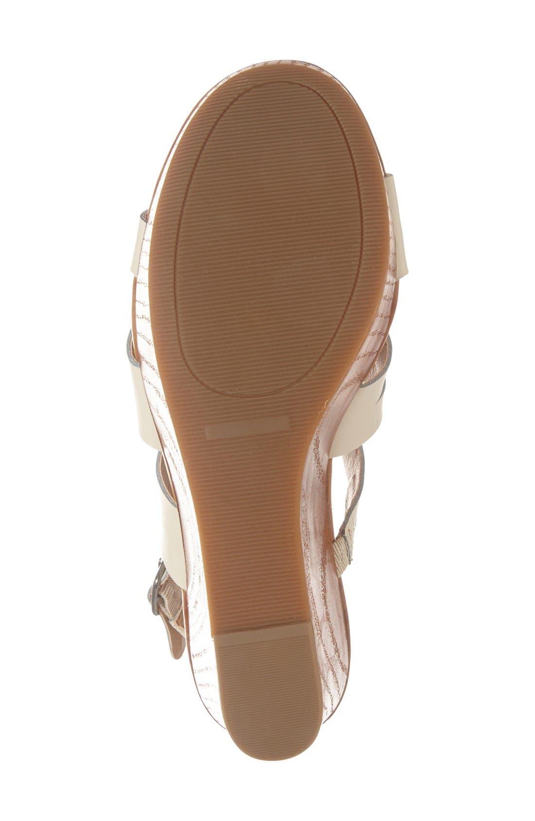 Alternate Image 4  - Lucky Brand 'Marinaa' Wedge Sandal (Women)
