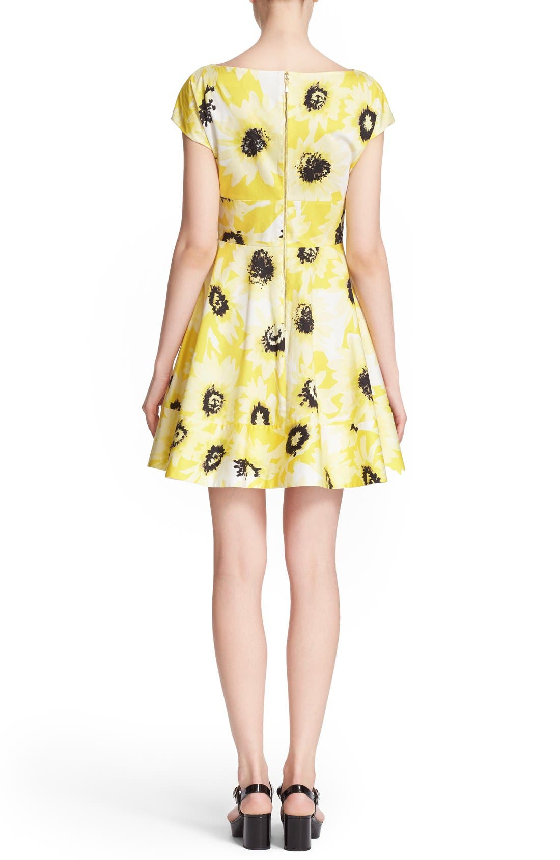 Alternate Image 3  - kate spade new york 'fiorella' floral print dress