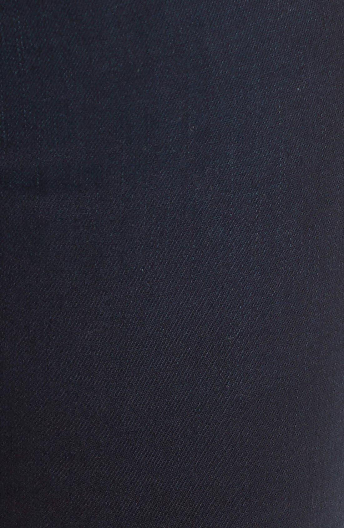 Alternate Image 5  - Cheap Monday High Rise Skinny Jeans (OD Blue)