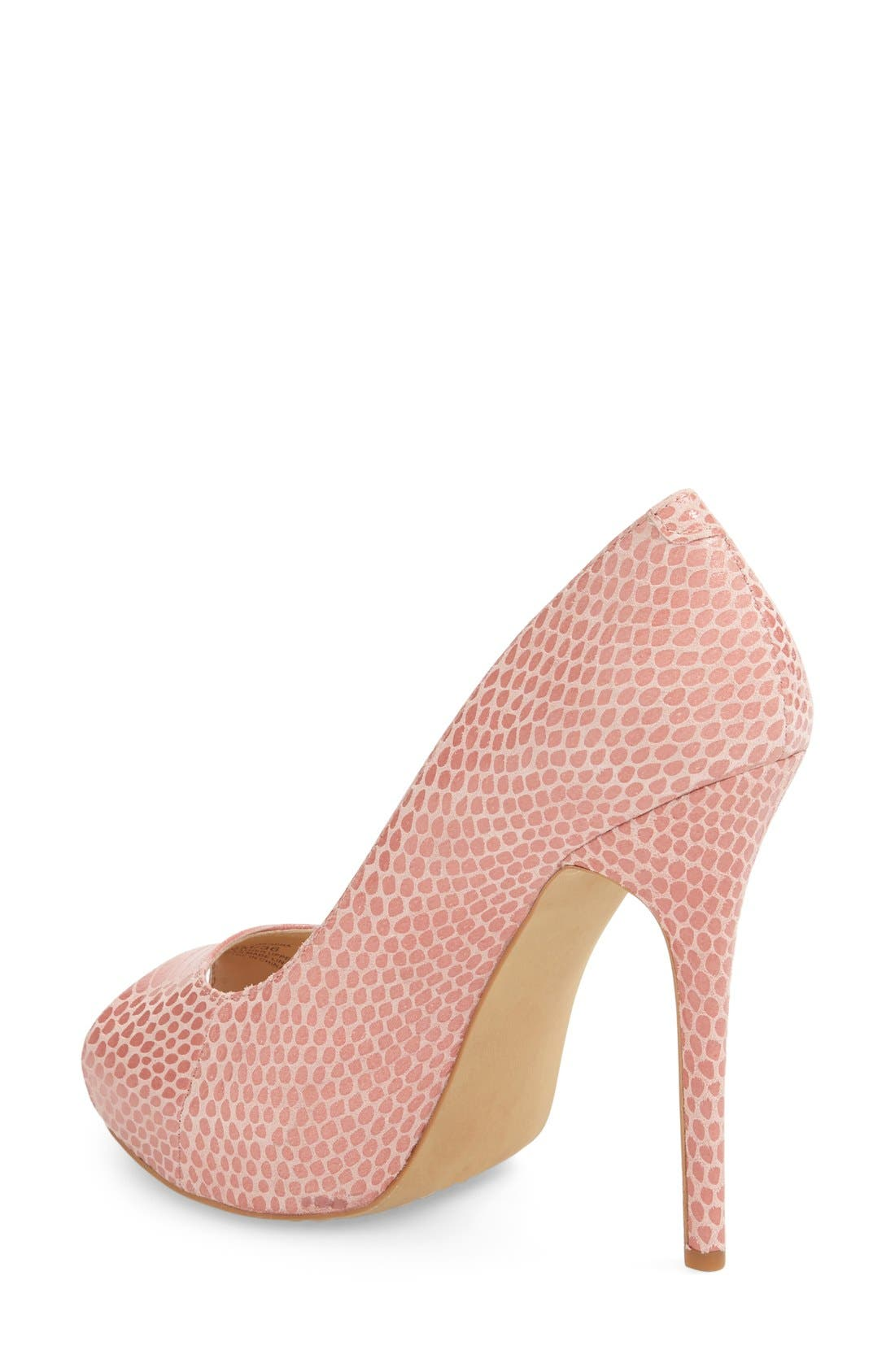 Alternate Image 2  - Vince Camuto 'Lormina' Peep Toe Pump (Women)