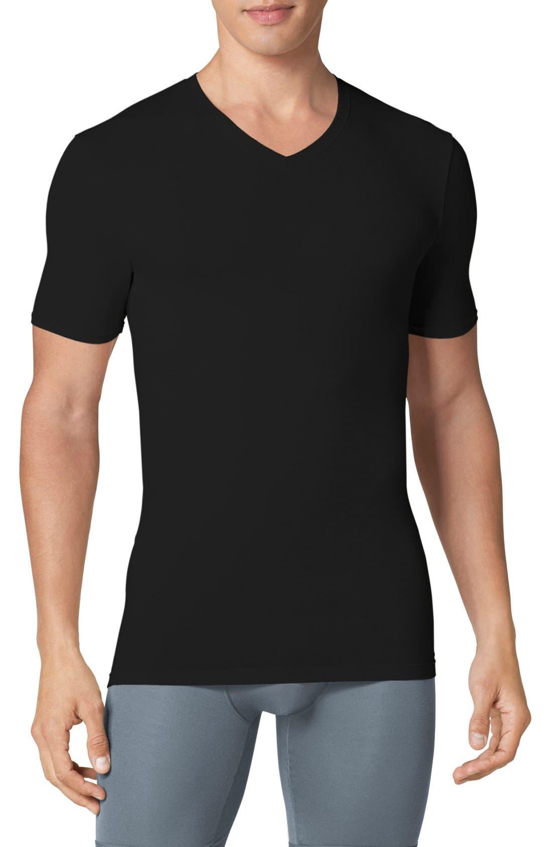 Tommy John 'Second Skin' High V-Neck Undershirt