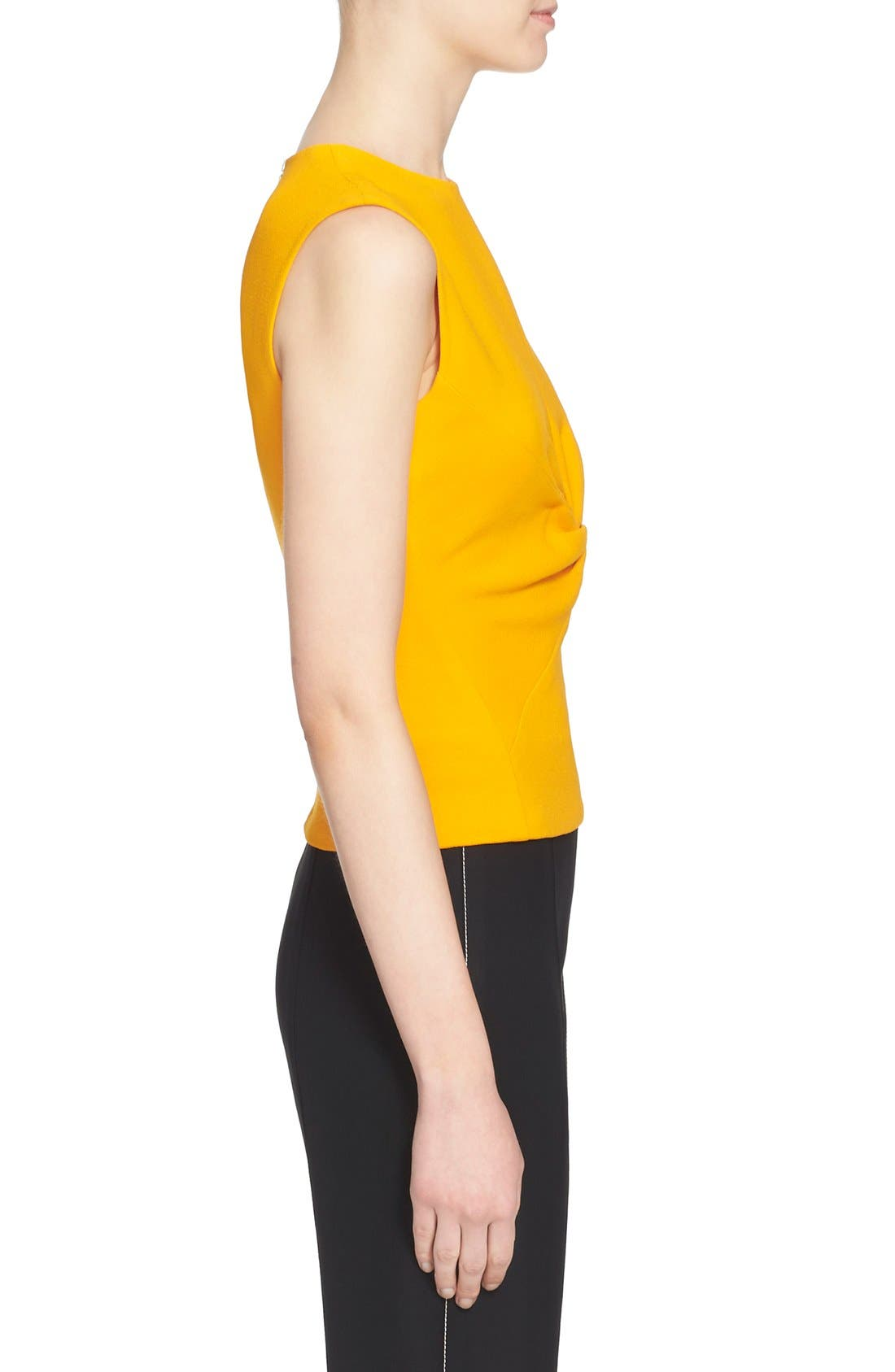 Alternate Image 5  - Narciso Rodriguez Twist Front Crepe Top