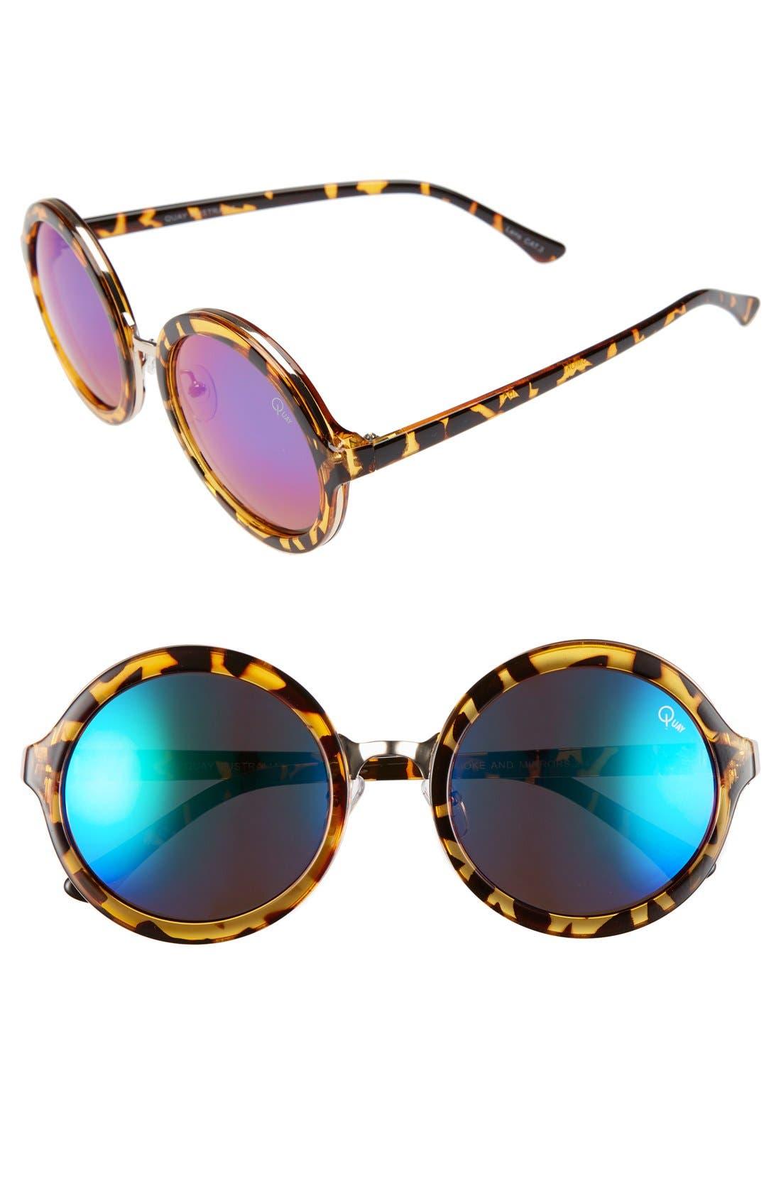 Alternate Image 1 Selected - Quay Australia 'Smoke & Mirrors' 52mm Sunglasses