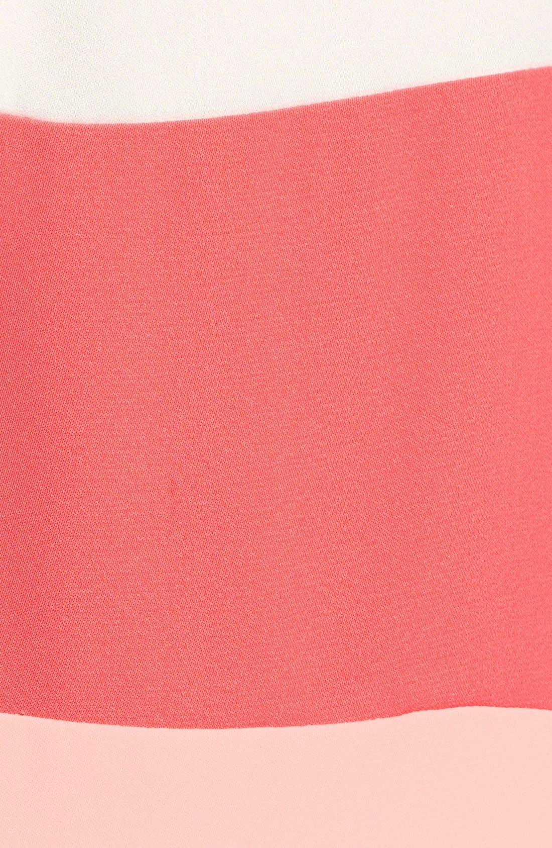 Alternate Image 5  - Halogen® Colorblock Shift Dress (Regular & Petite)