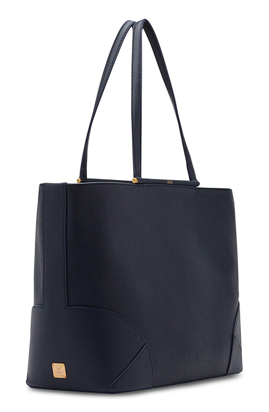 Alternate Image 5  - MCM 'Medium Claudia' Leather Shopper
