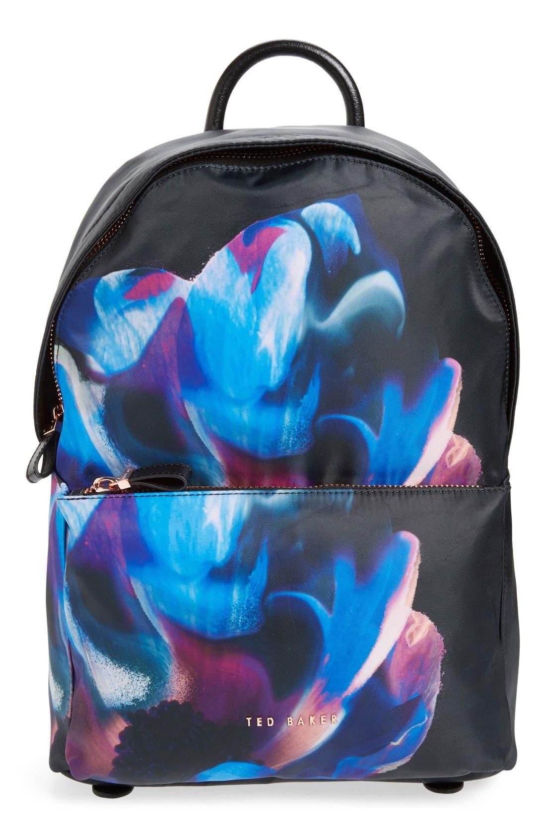 Main Image - Ted Baker London 'Cosmic Bloom' Backpack