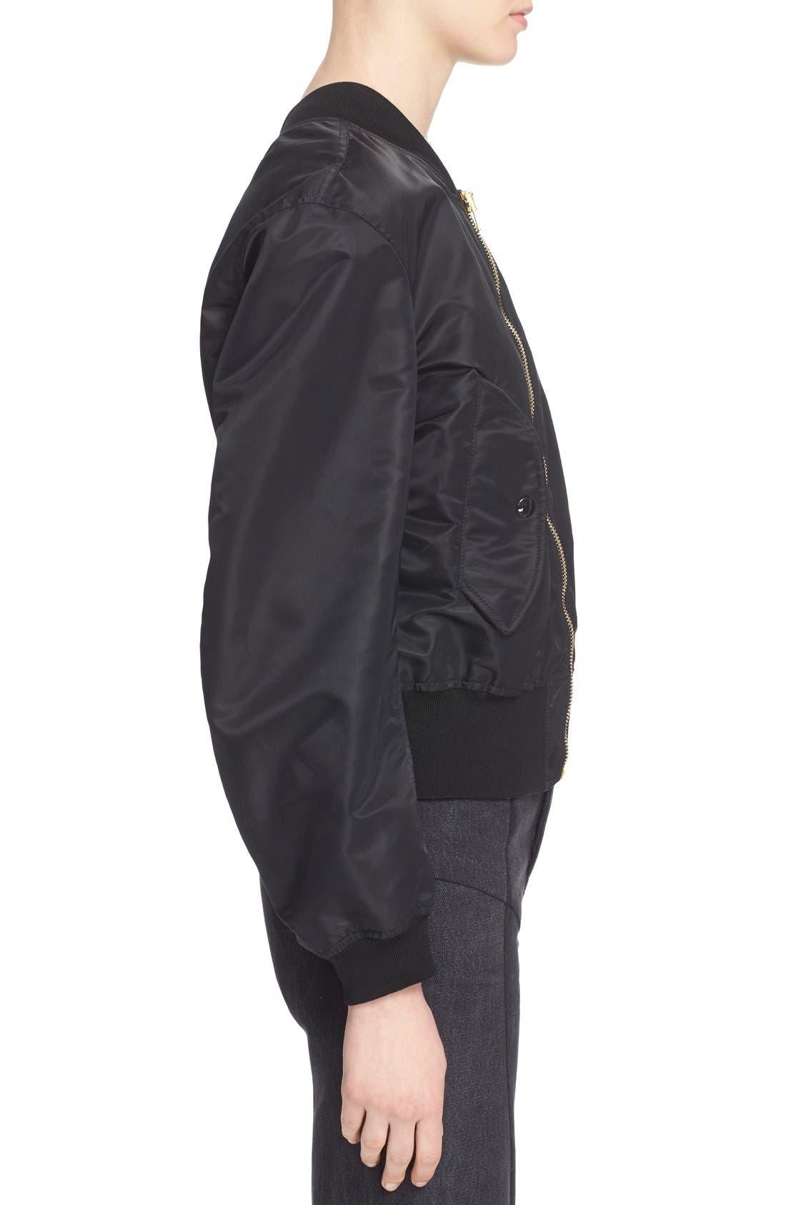 Alternate Image 5  - Vetements Nylon Bomber Jacket