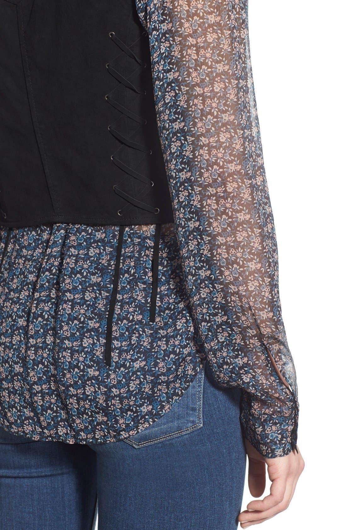 Alternate Image 4  - PAIGE 'Janelle' Suede Vest