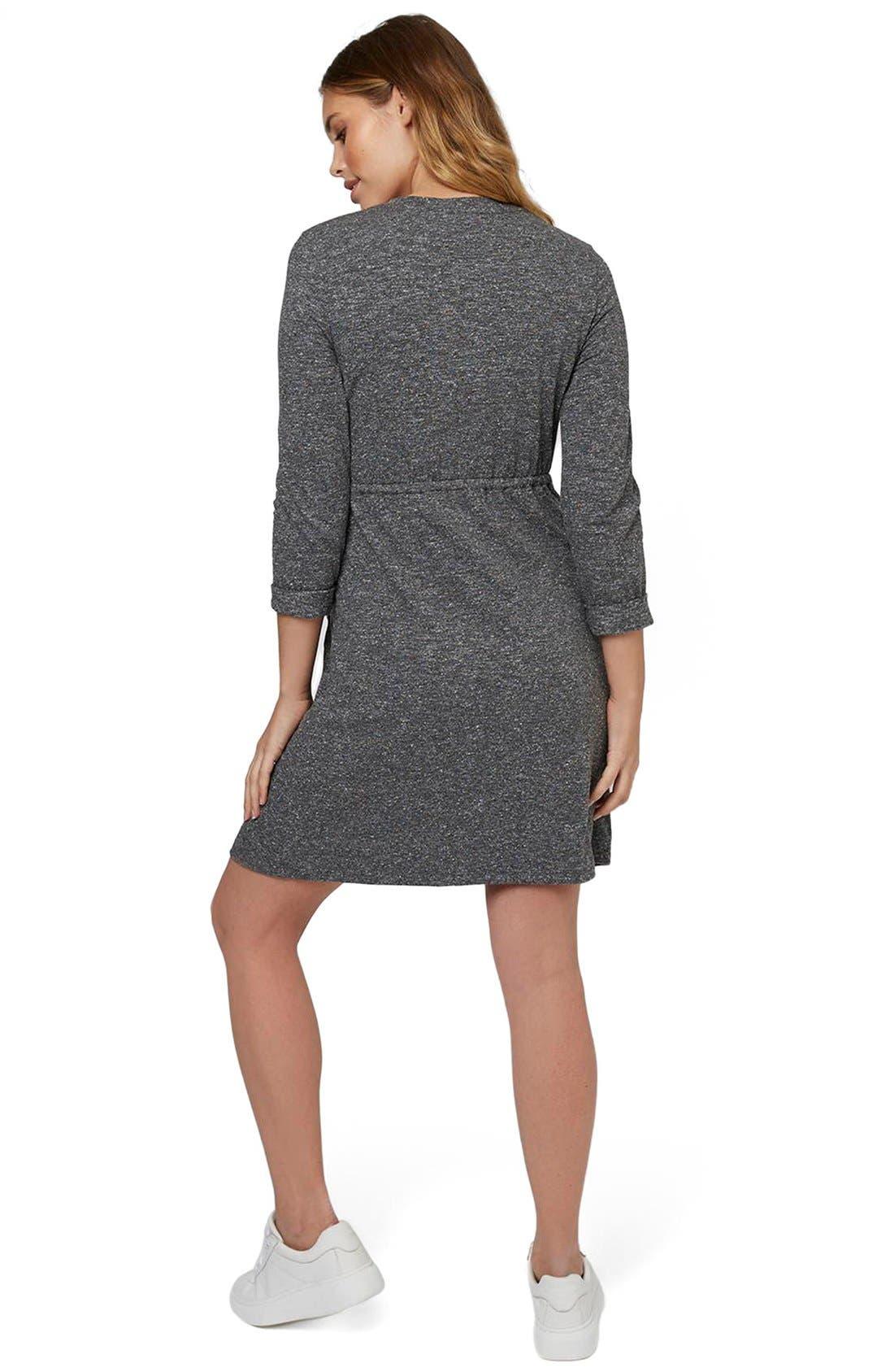 Alternate Image 3  - Topshop Drawstring Maternity Dress