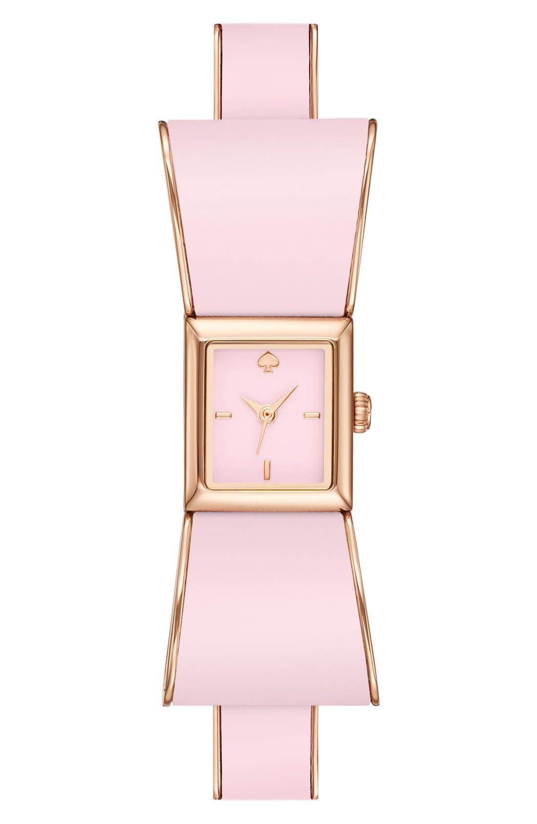 Alternate Image 1 Selected - kate spade new york 'kenmare' bracelet watch, 15mm x 18mm