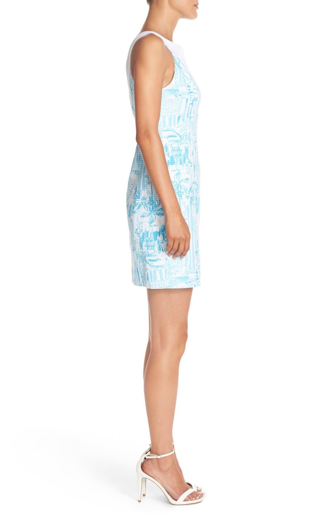 Alternate Image 3  - Lilly Pulitzer® 'Valli' Soutache Print Jacquard Sheath Dress