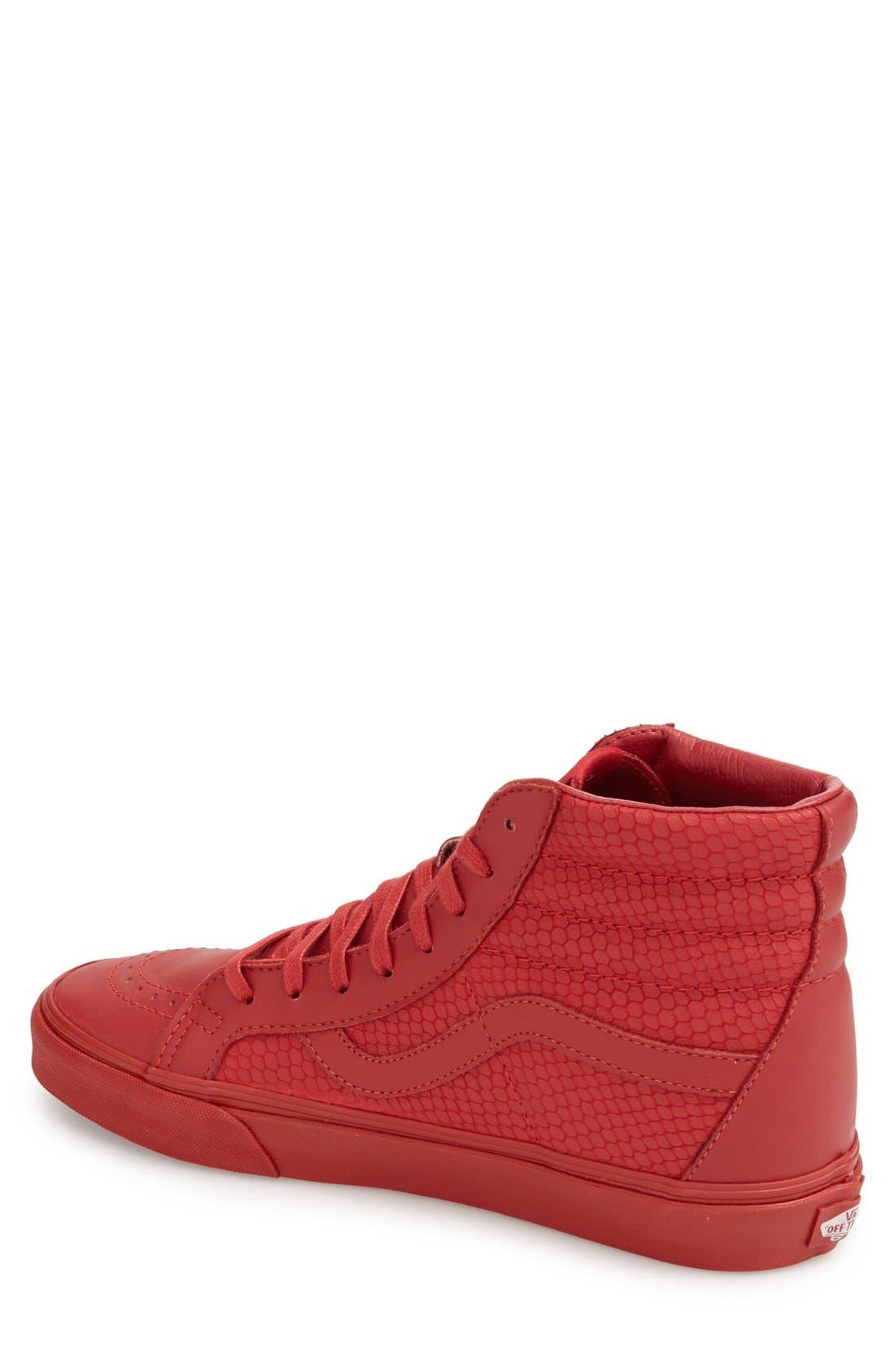 Alternate Image 2  - Vans 'Sk8-Hi Reissue Plus' Sneaker (Men)