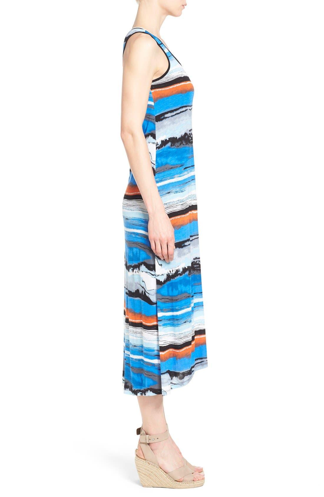 Alternate Image 3  - kensie Print Maxi Dress