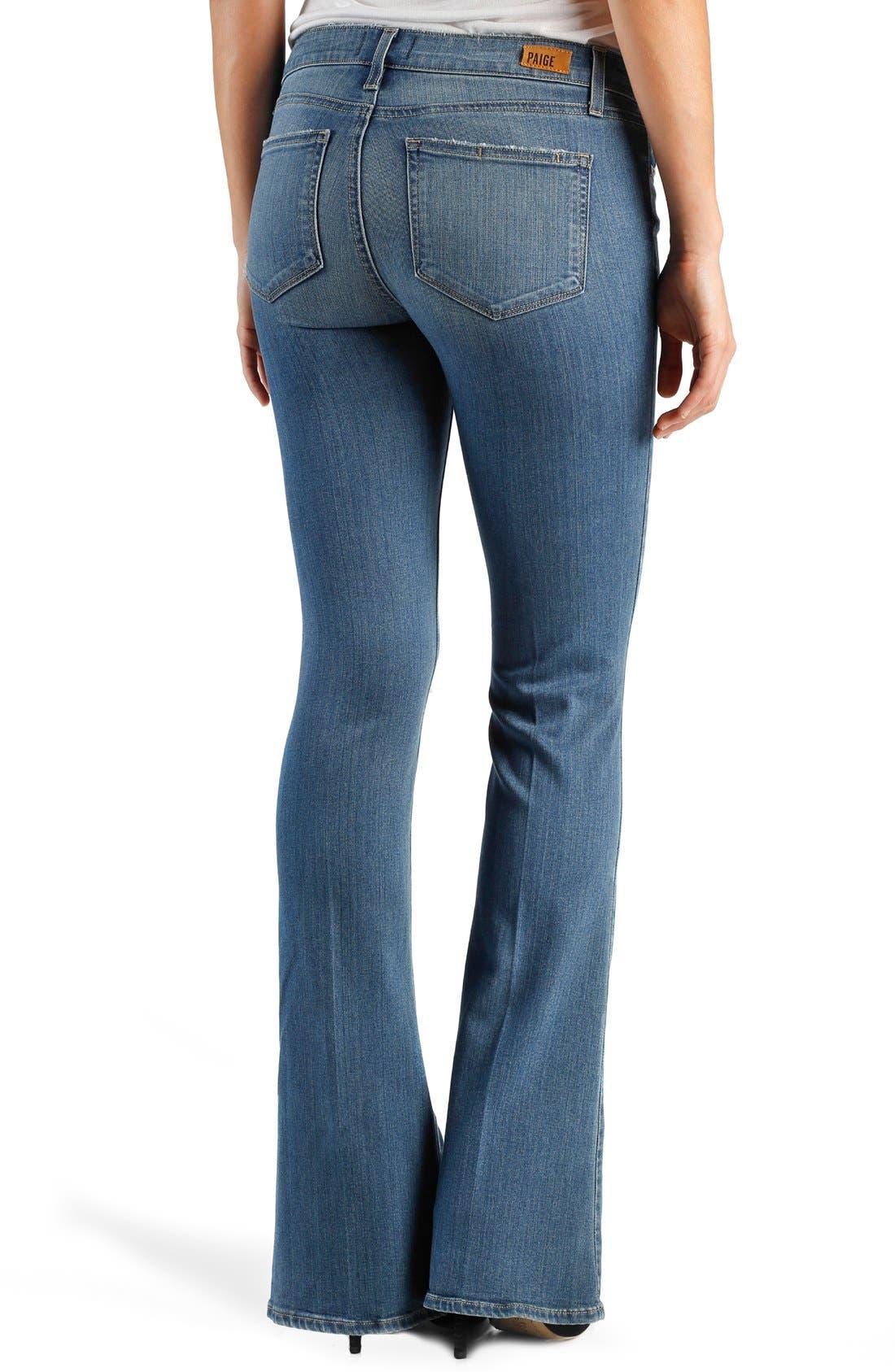 Alternate Image 2  - Paige Denim 'Transcend - Lou Lou' Flare Jeans (Joelle)