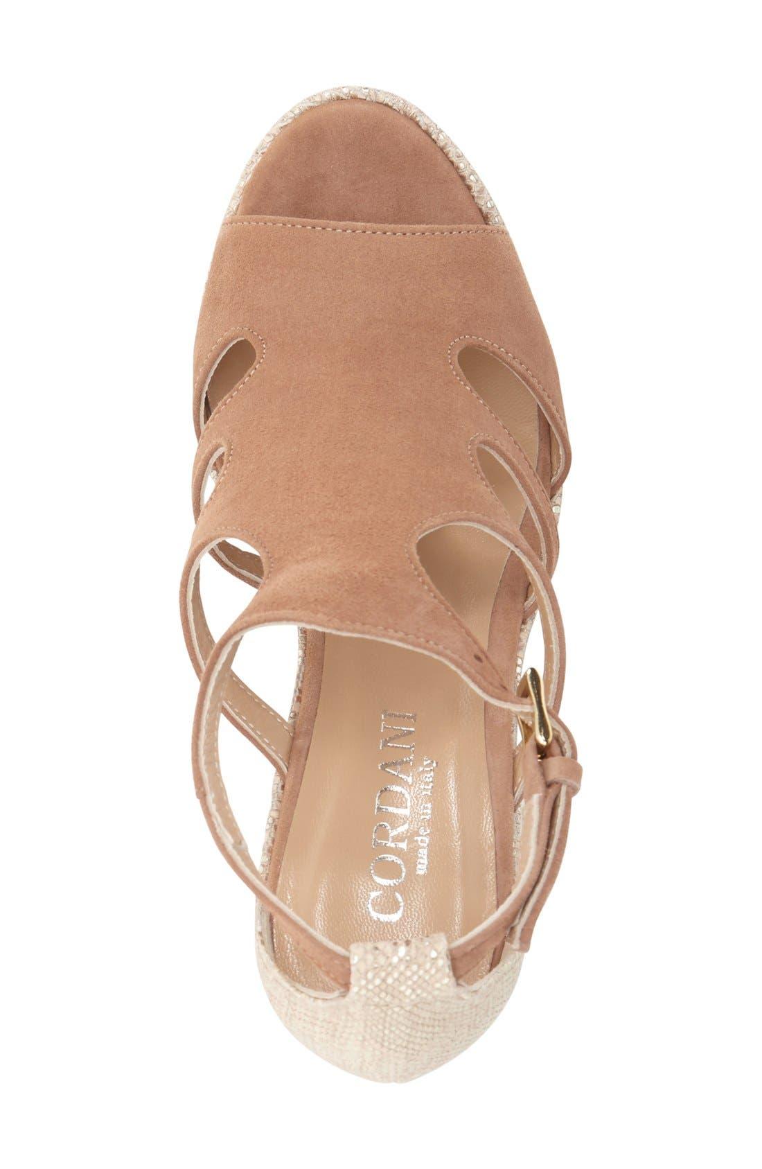 Alternate Image 3  - Cordani 'Lennix' Platform Wedge Sandal (Women)