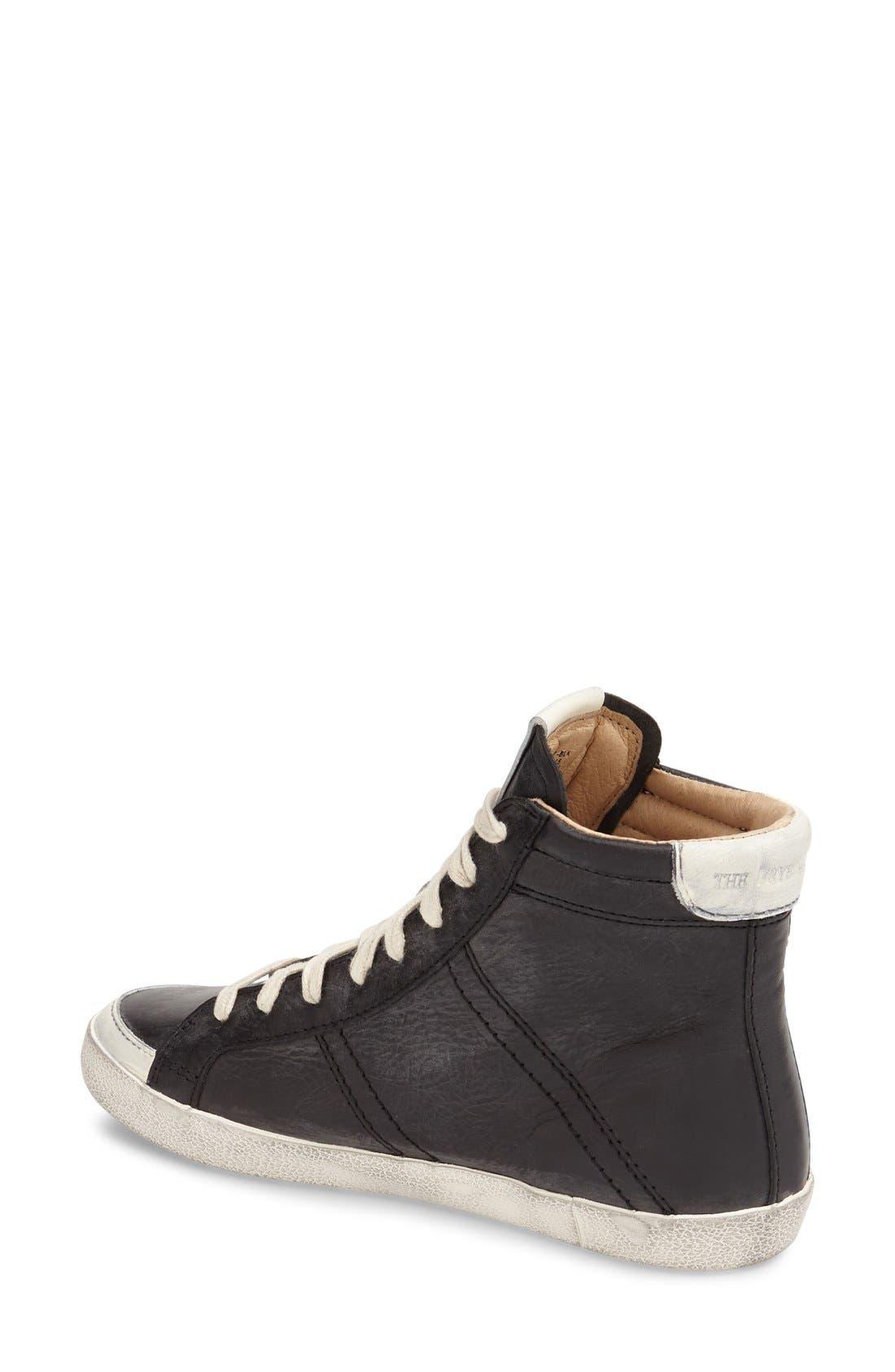 Alternate Image 2  - Frye 'Dylan' High Top Sneaker (Women)