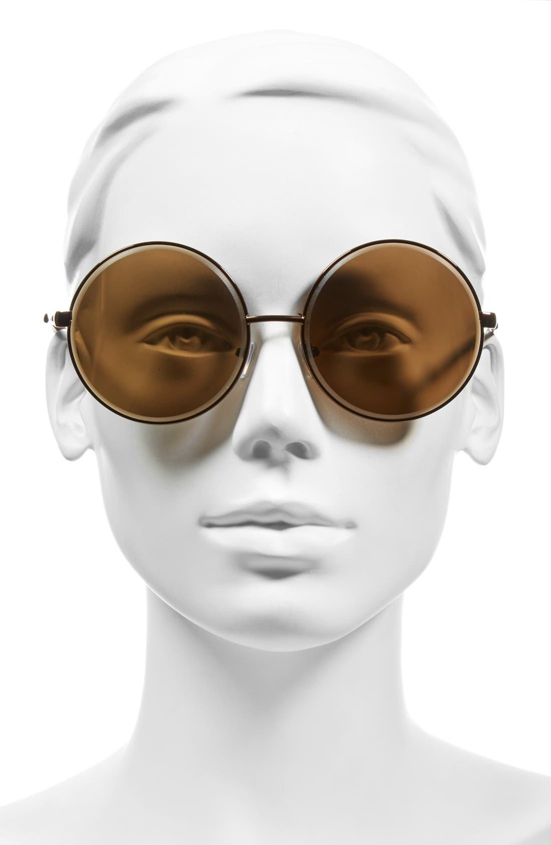 Alternate Image 2  - A.J. Morgan 'Global' 60mm Oversize Round Sunglasses