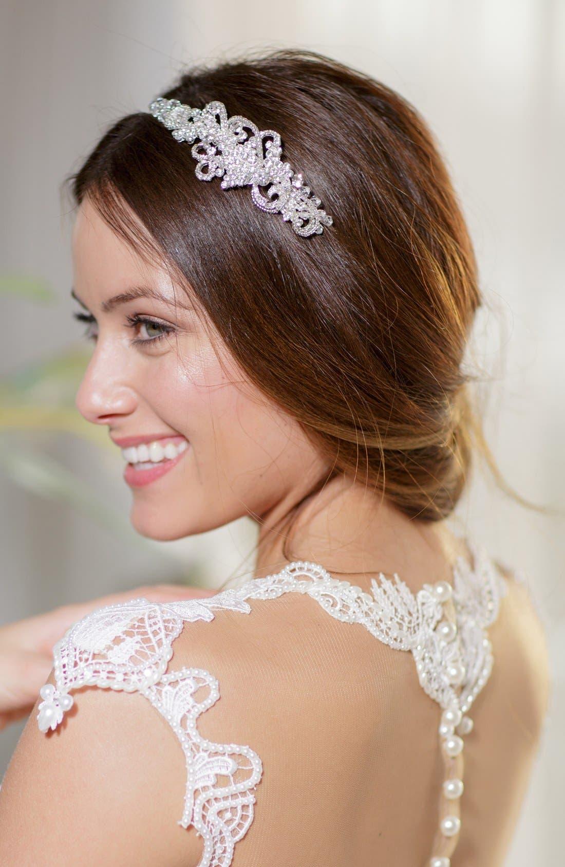 Alternate Image 5  - Brides & Hairpins 'Aphrodite' Jeweled Head Band