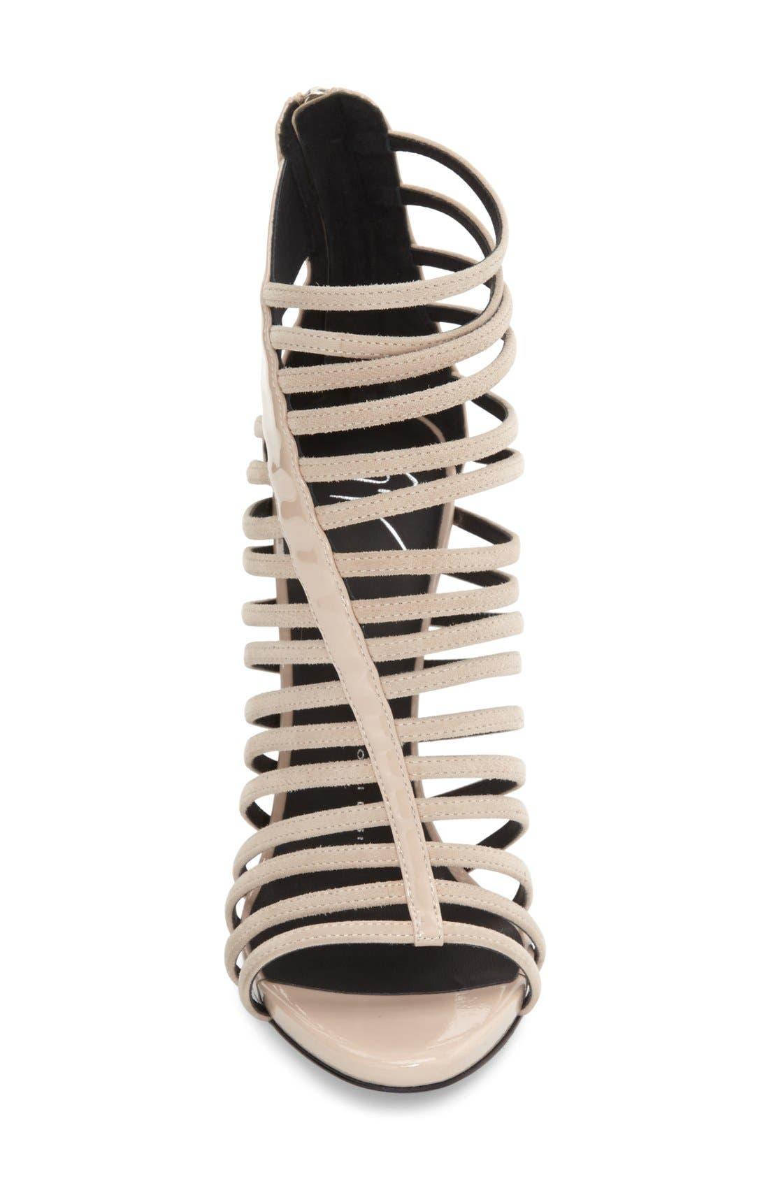 Alternate Image 3  - Giuseppe Zanotti 'Coline' Cage Sandal (Women)