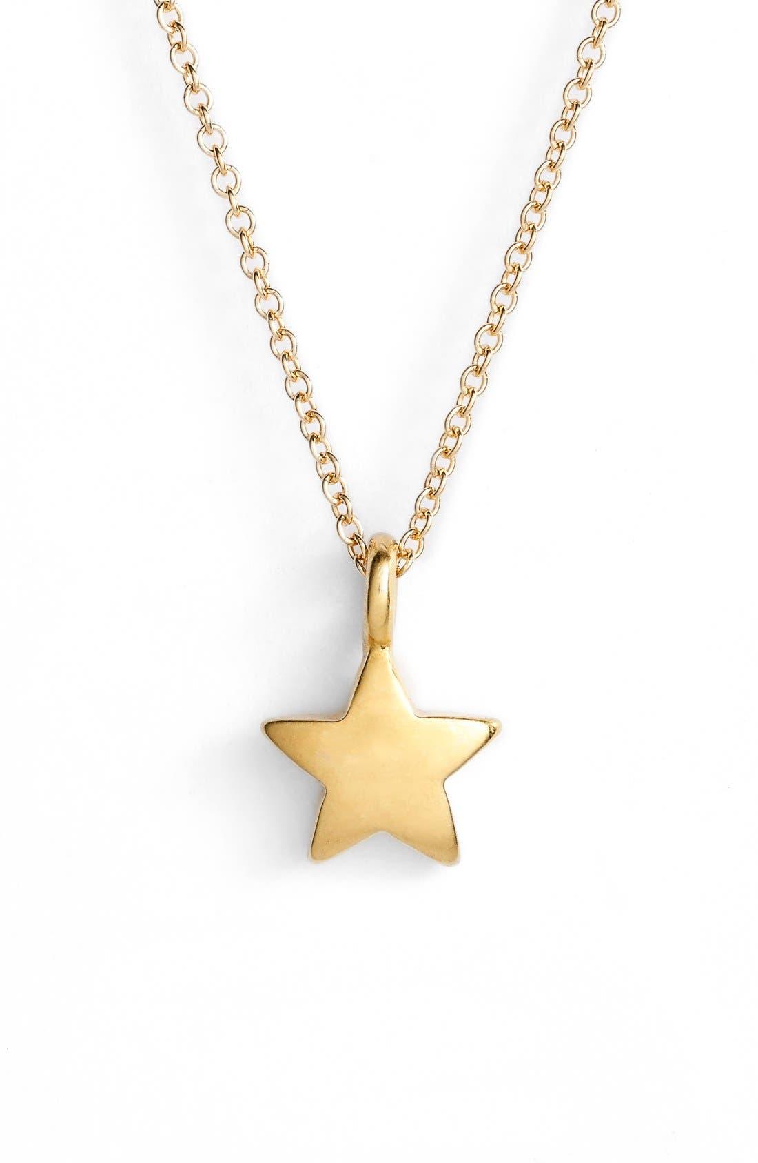 Alternate Image 3  - Dogeared 'Congratulations' Star Pendant Necklace