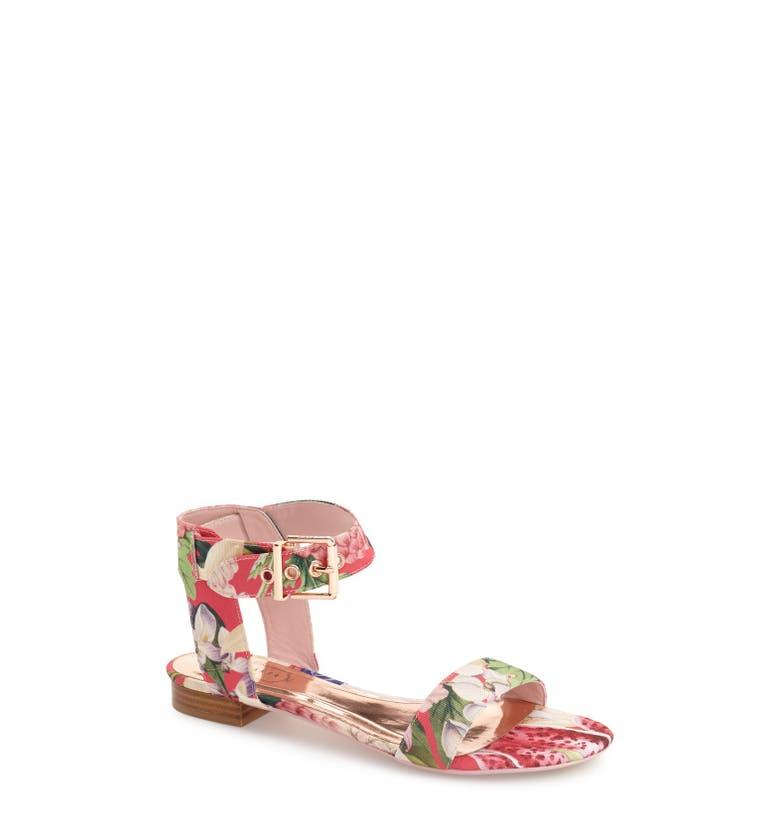 ted baker london 39 leeban 39 sandal women nordstrom. Black Bedroom Furniture Sets. Home Design Ideas