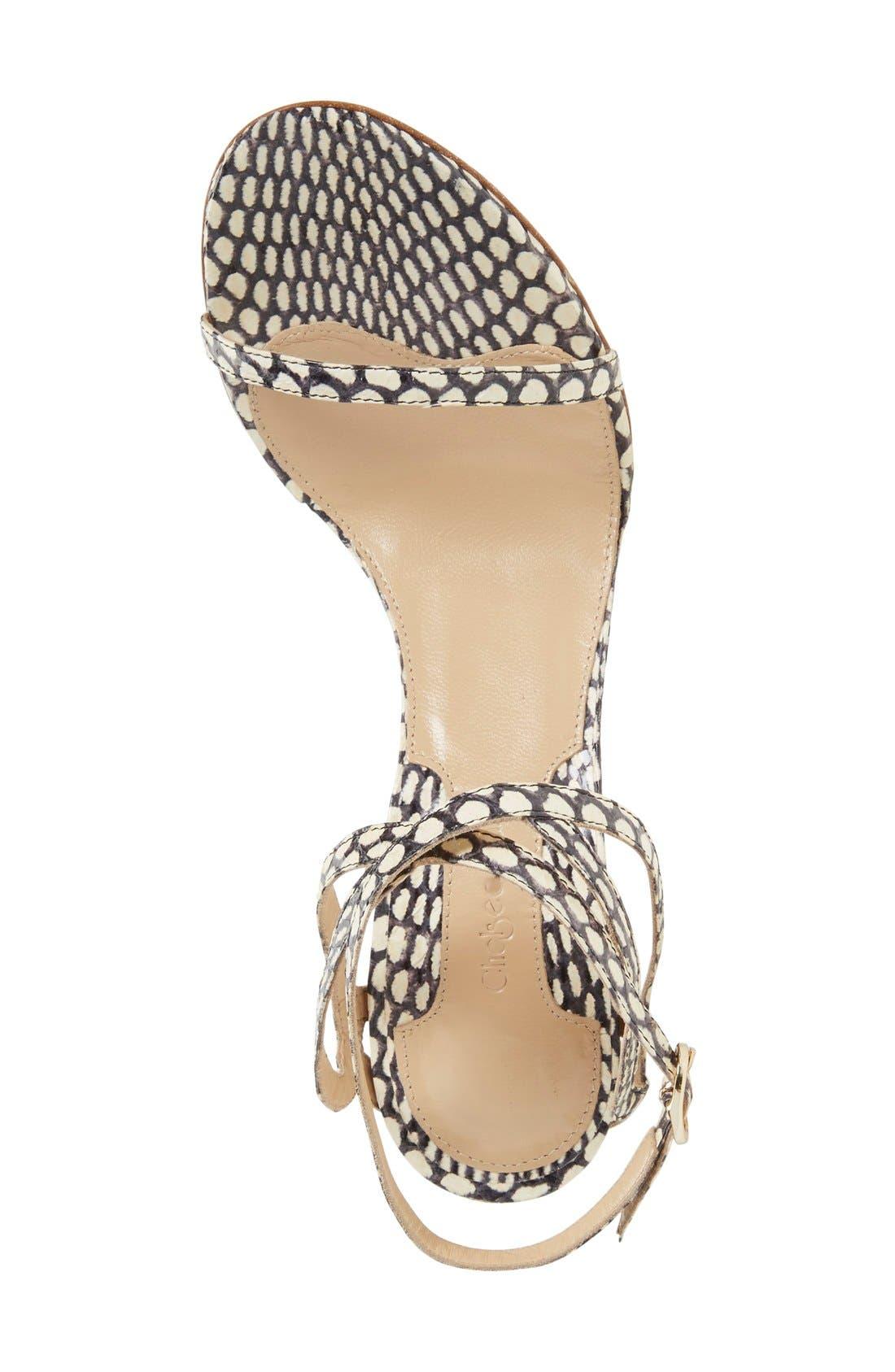 Alternate Image 3  - Chelsea Paris 'Soyak' Ankle Strap Sandal (Women)