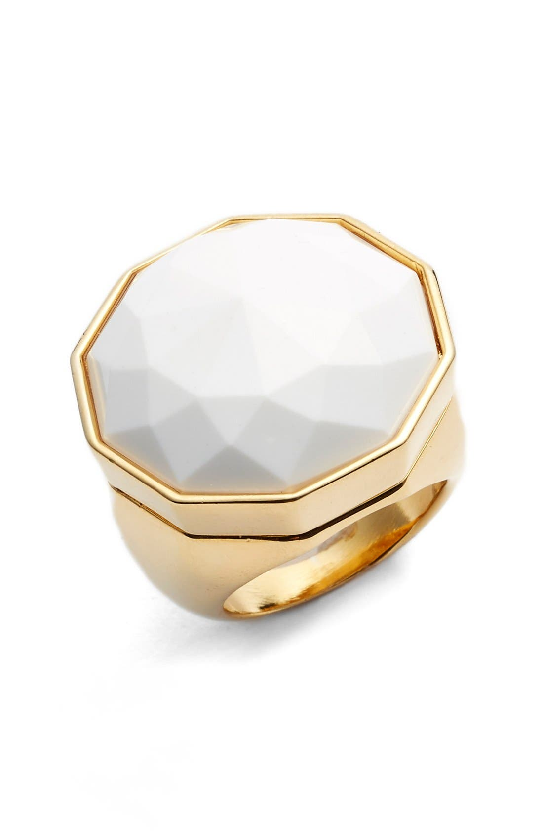 Main Image - Trina Turk Faceted Stone Cocktail Ring